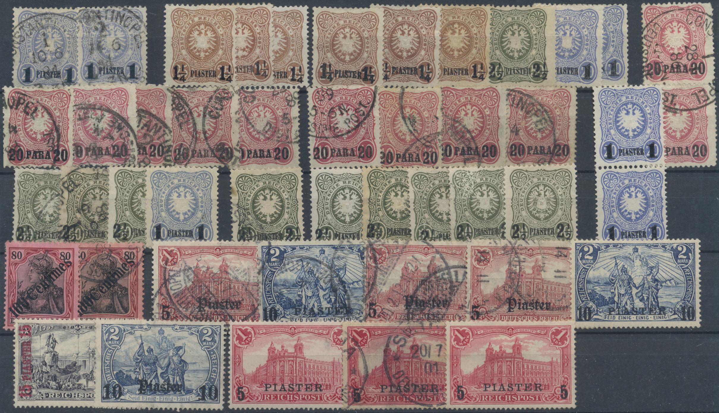 Lot 36903 - Deutsche Auslandspostämter + Kolonien  -  Auktionshaus Christoph Gärtner GmbH & Co. KG Sale #44 Collections Germany