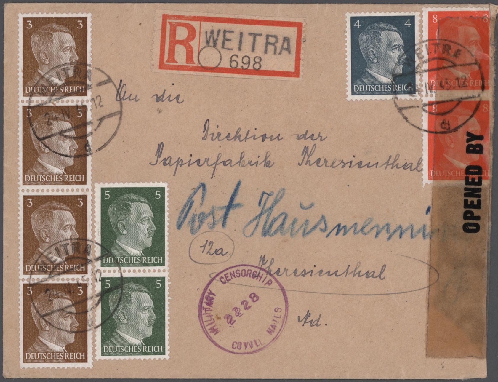 Lot 26294 - nachlässe  -  Auktionshaus Christoph Gärtner GmbH & Co. KG Sale #46 Gollcetions Germany - including the suplement