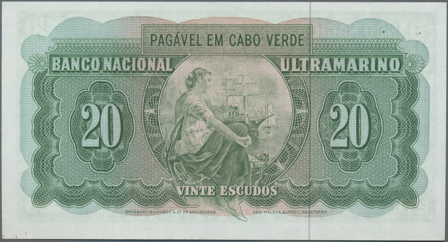 Lot 00107 - Cape Verde / Kap Verde | Banknoten  -  Auktionshaus Christoph Gärtner GmbH & Co. KG Sale #48 The Banknotes