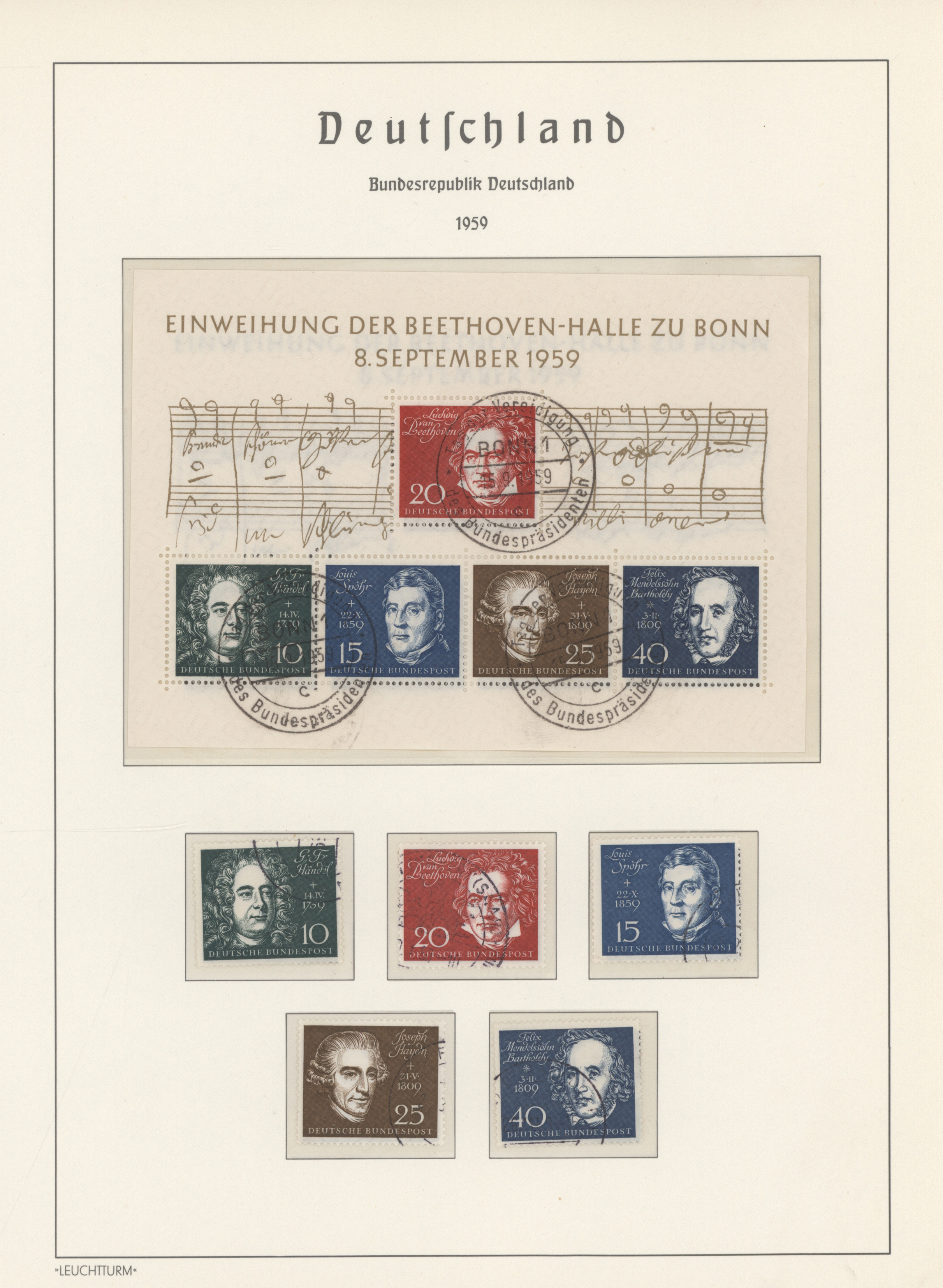 Lot 24465 - bundesrepublik deutschland  -  Auktionshaus Christoph Gärtner GmbH & Co. KG 50th Auction Anniversary Auction - Day 7