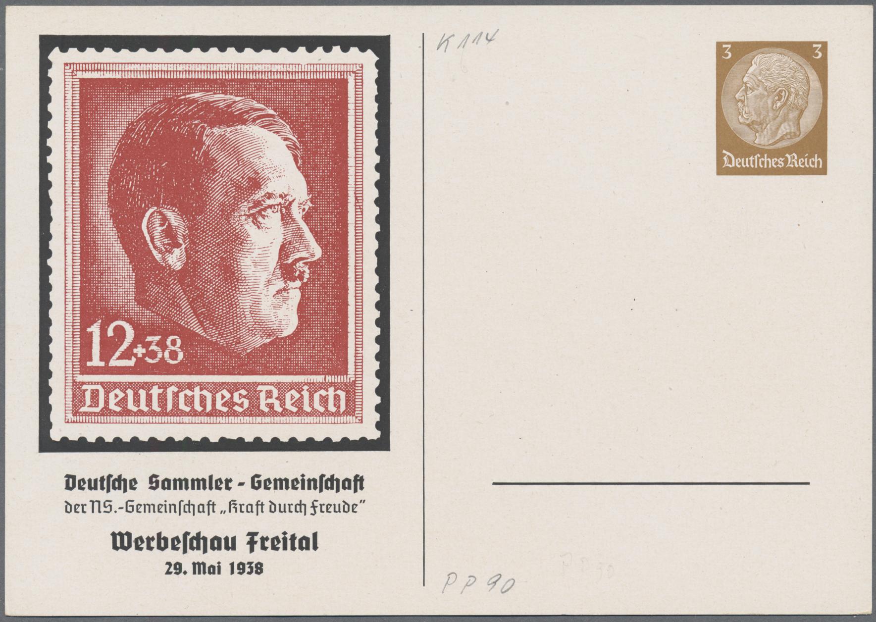 Lot 23546 - Deutsches Reich - Privatganzsachen  -  Auktionshaus Christoph Gärtner GmbH & Co. KG Sale #49 Collections Overseas, Thematics, Europe, Germany/Estates