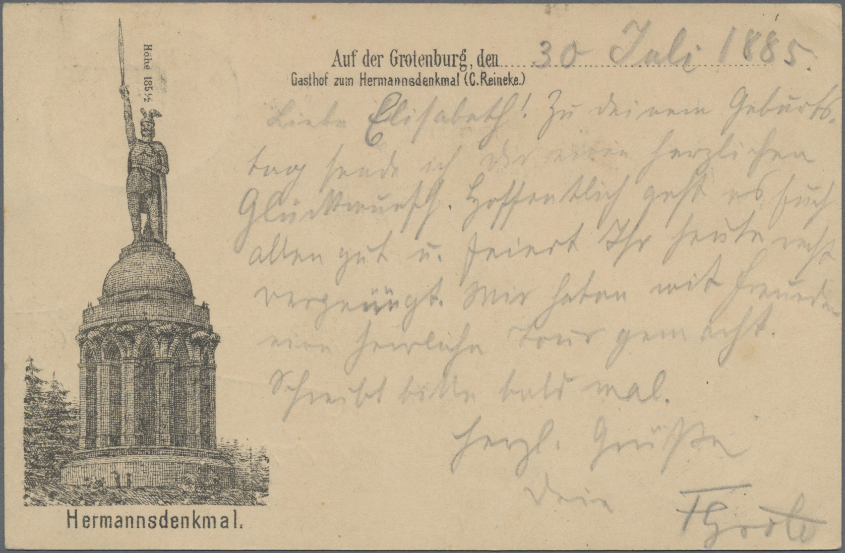 Lot 02581 - Ansichtskarten: Vorläufer  -  Auktionshaus Christoph Gärtner GmbH & Co. KG Special auction
