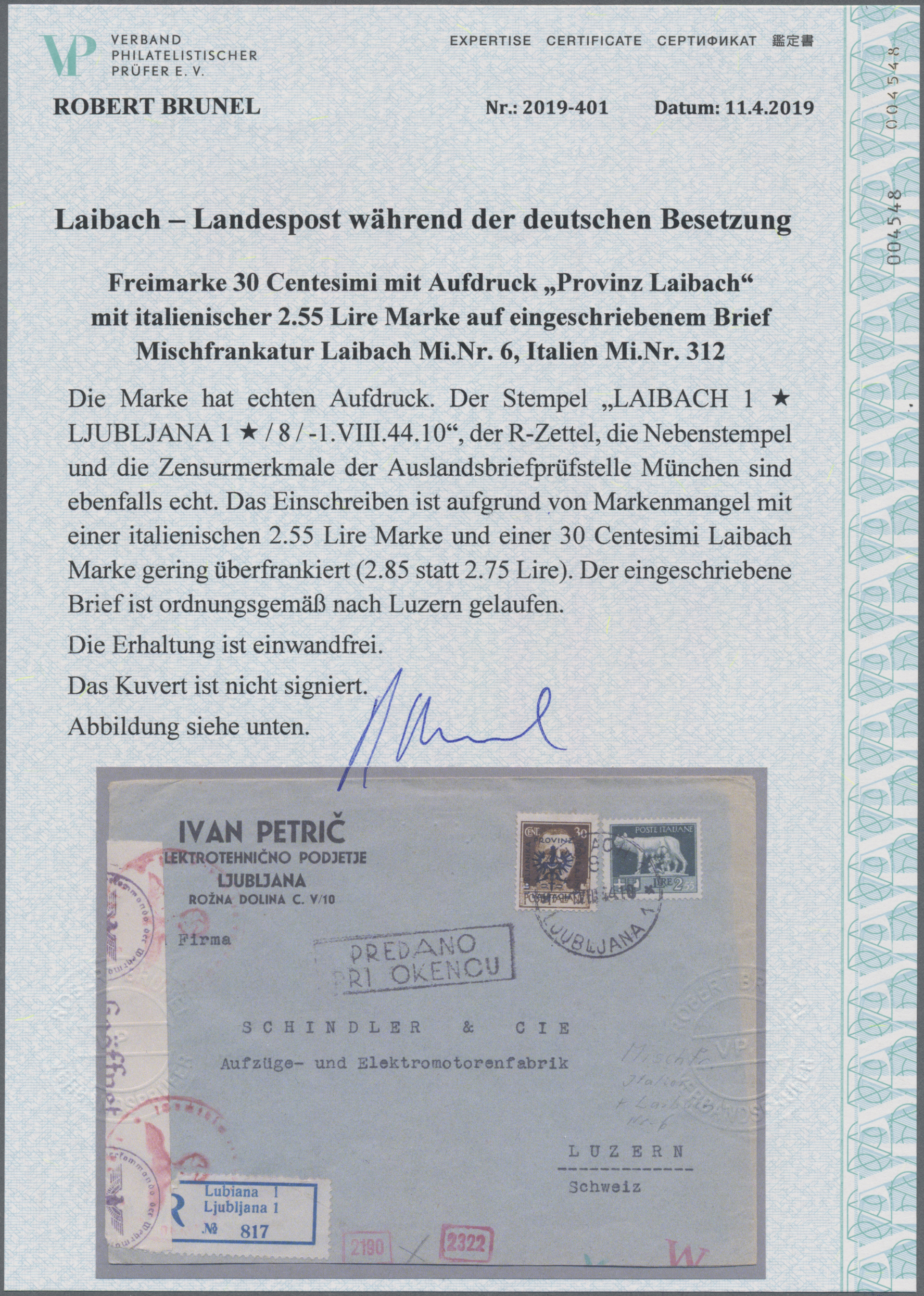 Lot 23560 - Dt. Besetzung II WK - Laibach  -  Auktionshaus Christoph Gärtner GmbH & Co. KG Sale #44 Germany, Picture Post cards