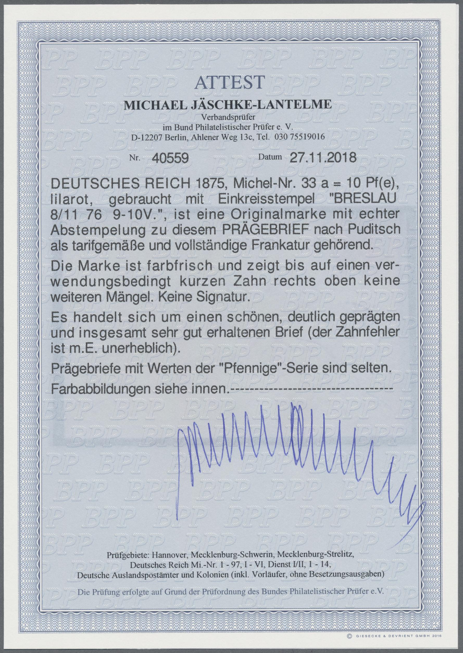 Lot 17083 - Deutsches Reich - Pfennige  -  Auktionshaus Christoph Gärtner GmbH & Co. KG Sale #45- GERMANY