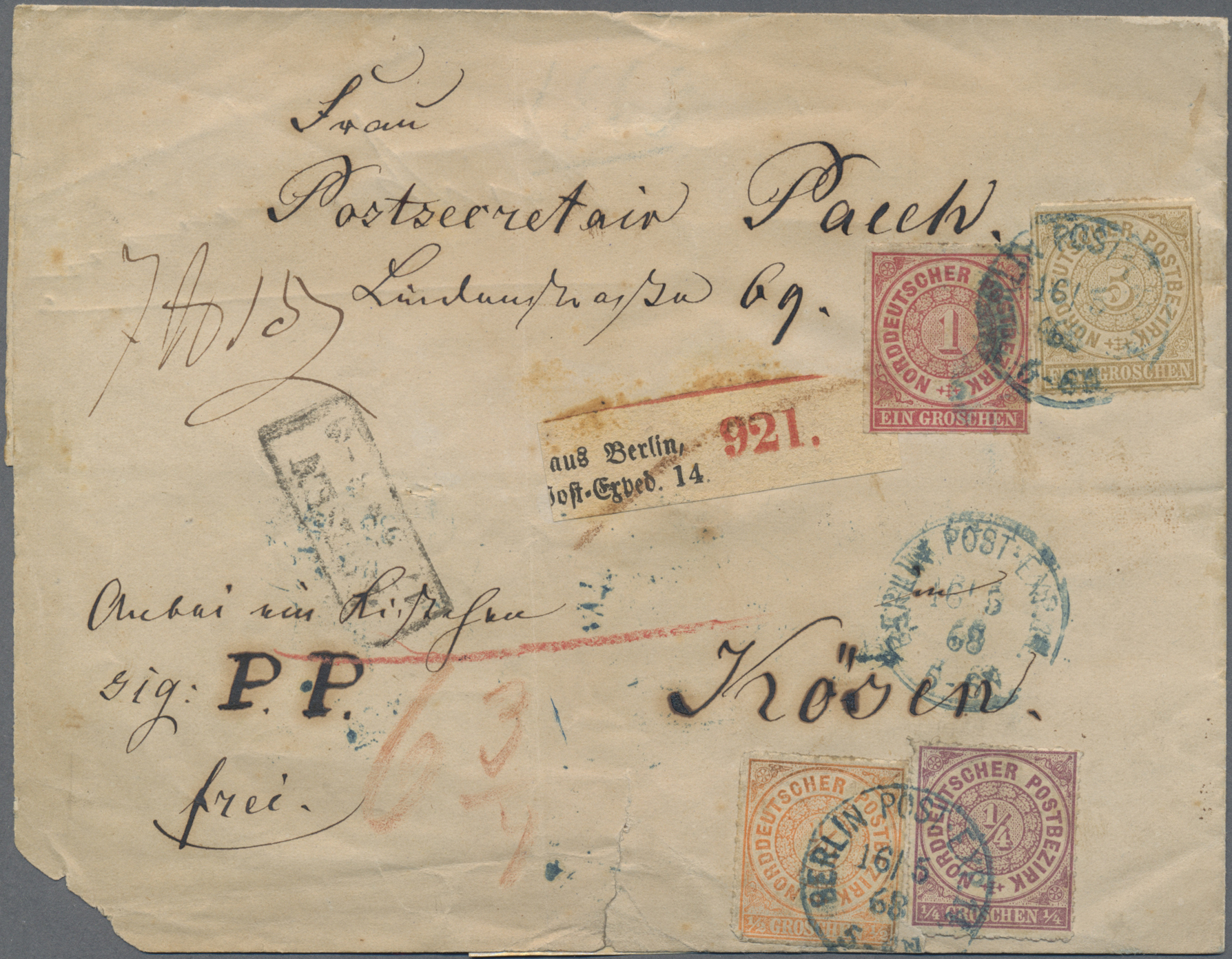 Lot 27343 - nachlässe  -  Auktionshaus Christoph Gärtner GmbH & Co. KG Sale #46 Gollcetions Germany - including the suplement