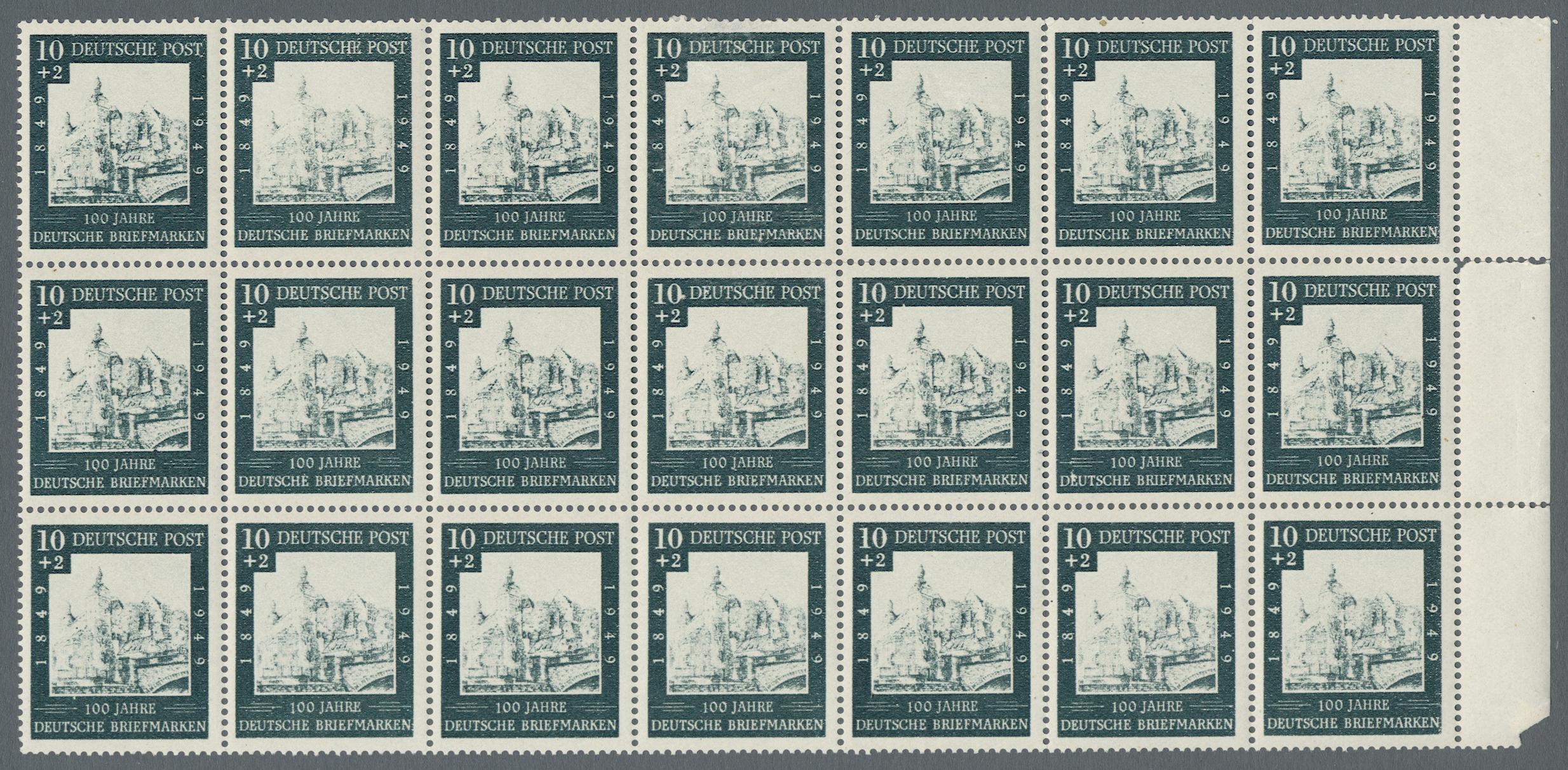 Lot 37596 - bundesrepublik deutschland  -  Auktionshaus Christoph Gärtner GmbH & Co. KG Sale #44 Collections Germany