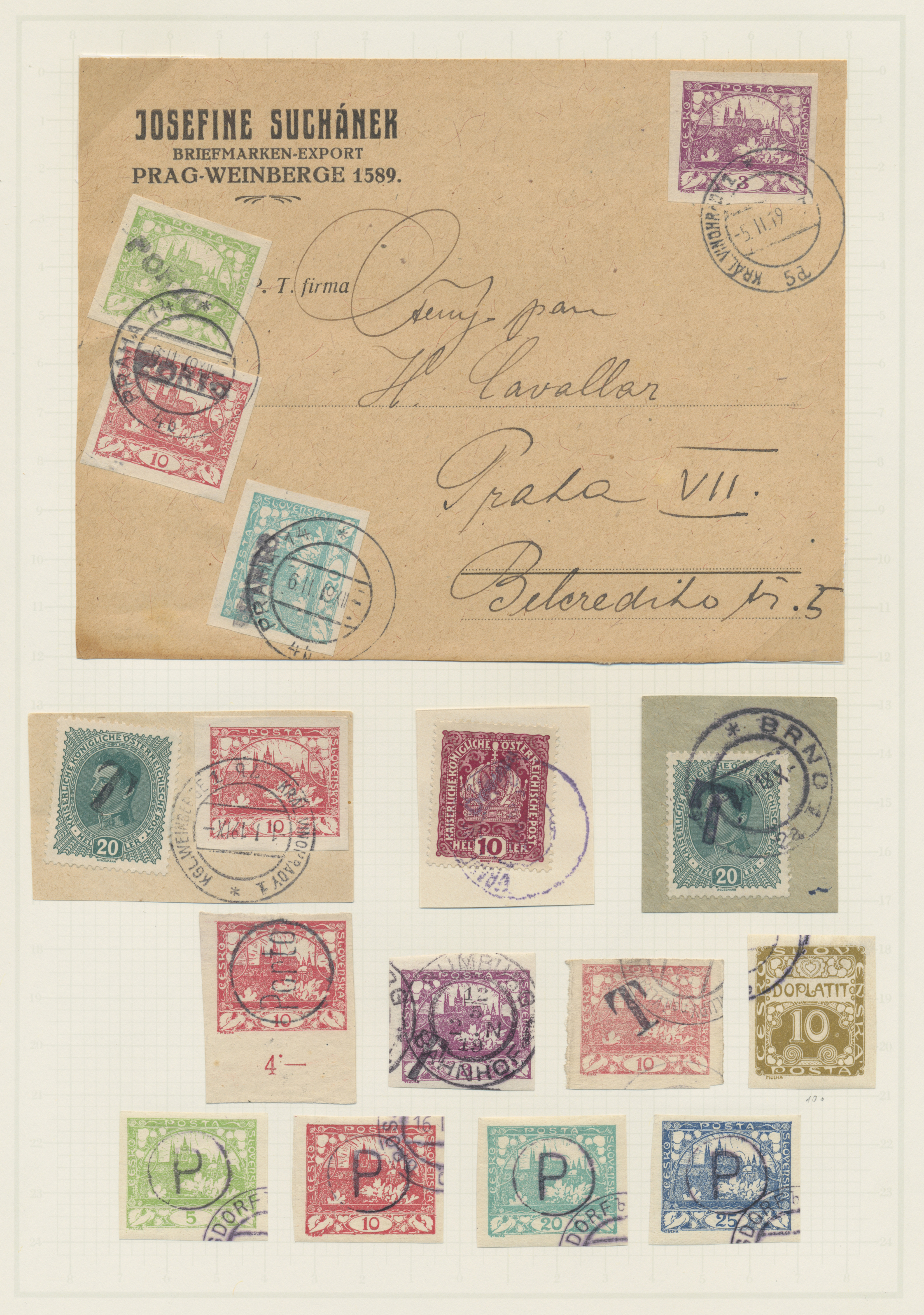 Lot 27300 - tschechoslowakei  -  Auktionshaus Christoph Gärtner GmbH & Co. KG Sale #46 Gollcetions Germany - including the suplement