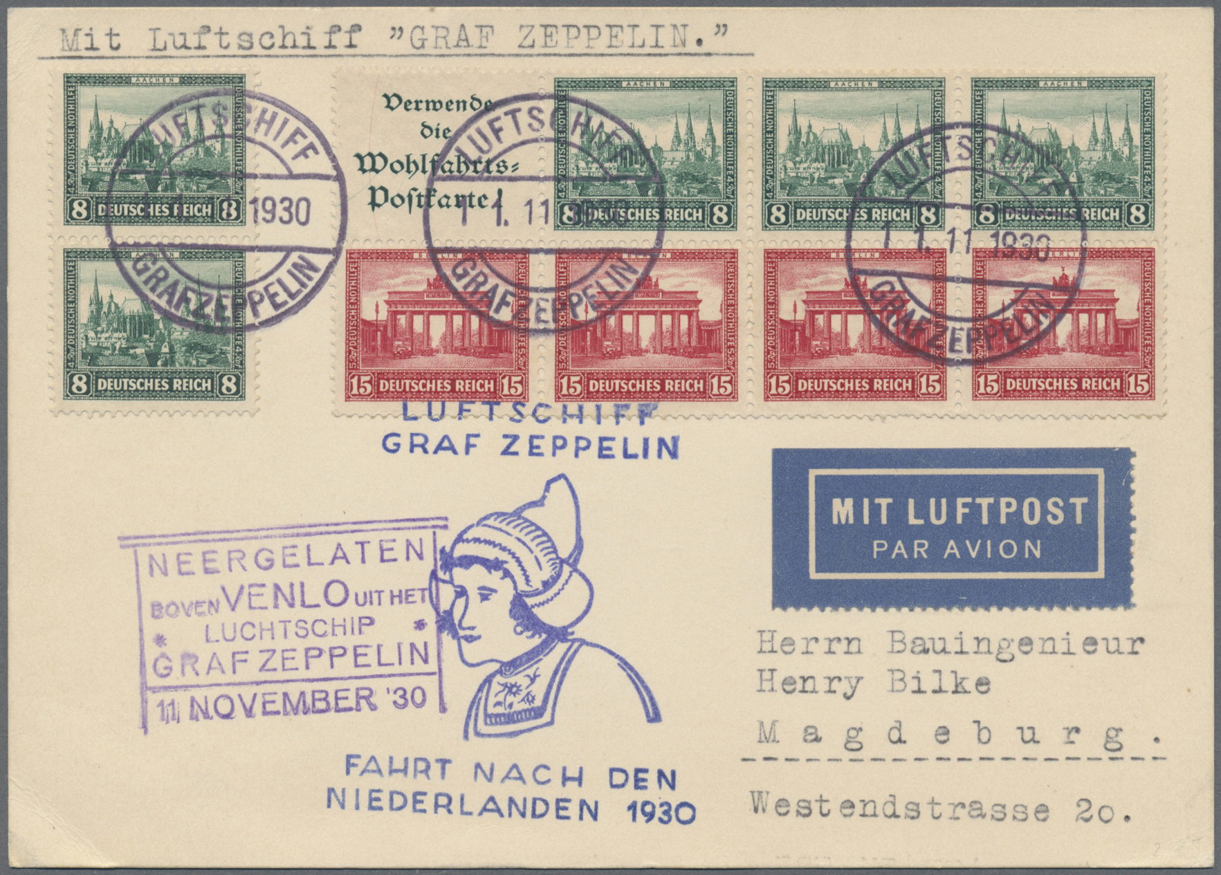 Lot 21625 - Deutsches Reich - Markenheftchenblätter  -  Auktionshaus Christoph Gärtner GmbH & Co. KG Single lots Germany + Picture Postcards. Auction #39 Day 5