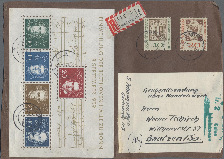 Lot 25295 - bundesrepublik deutschland  -  Auktionshaus Christoph Gärtner GmbH & Co. KG Sale #47 Colections: Germany