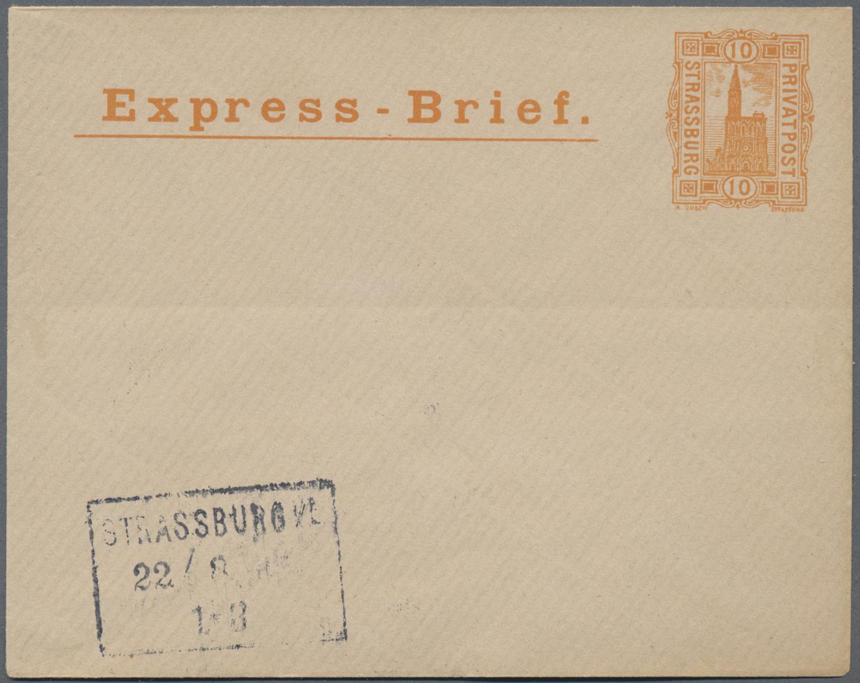 Lot 36819 - Deutsches Reich - Privatpost (Stadtpost)  -  Auktionshaus Christoph Gärtner GmbH & Co. KG Sale #44 Collections Germany