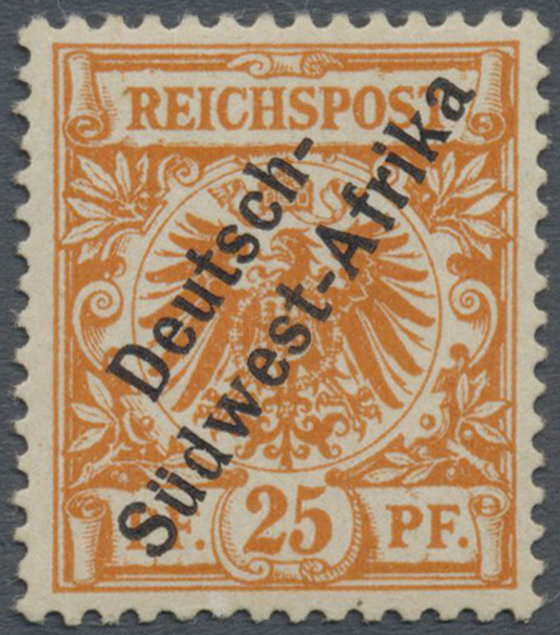 Lot 22315 - deutsch-südwestafrika  -  Auktionshaus Christoph Gärtner GmbH & Co. KG Single lots Germany + Picture Postcards. Auction #39 Day 5