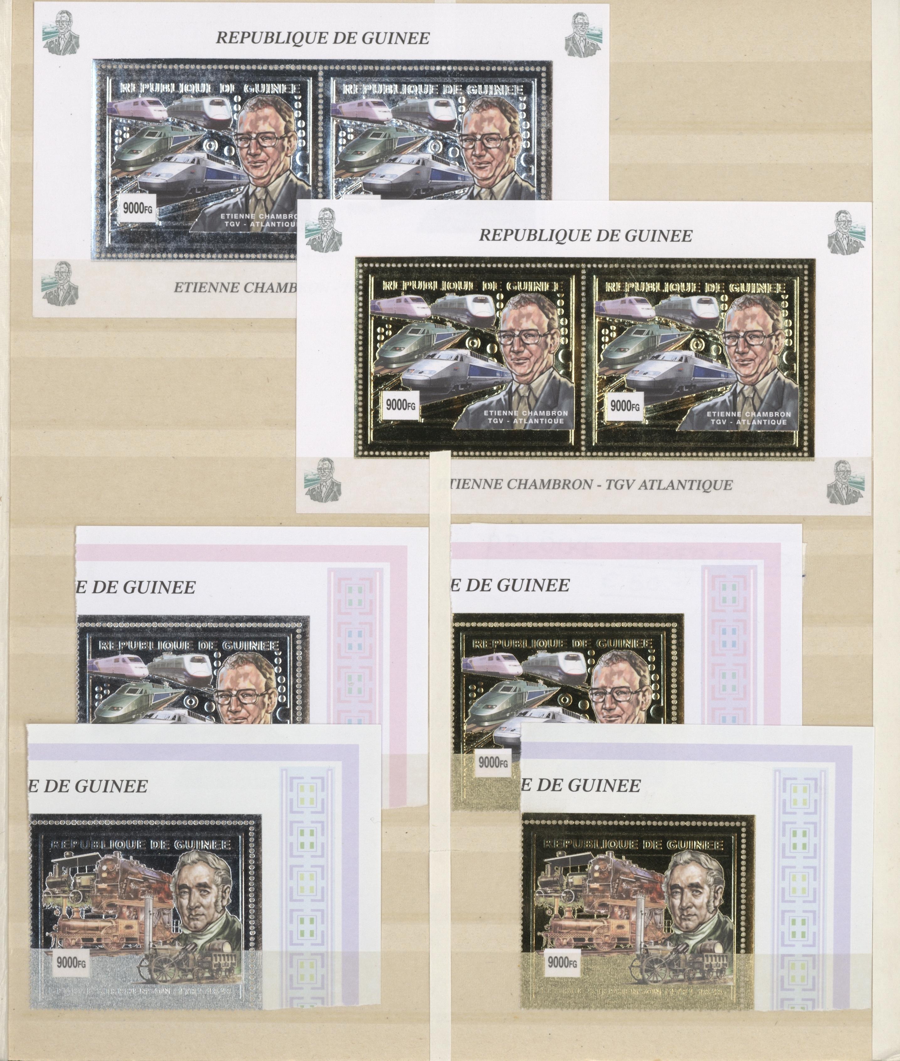 Lot 22877 - thematik: eisenbahn / railway  -  Auktionshaus Christoph Gärtner GmbH & Co. KG Sale #46 Collections Worldwide