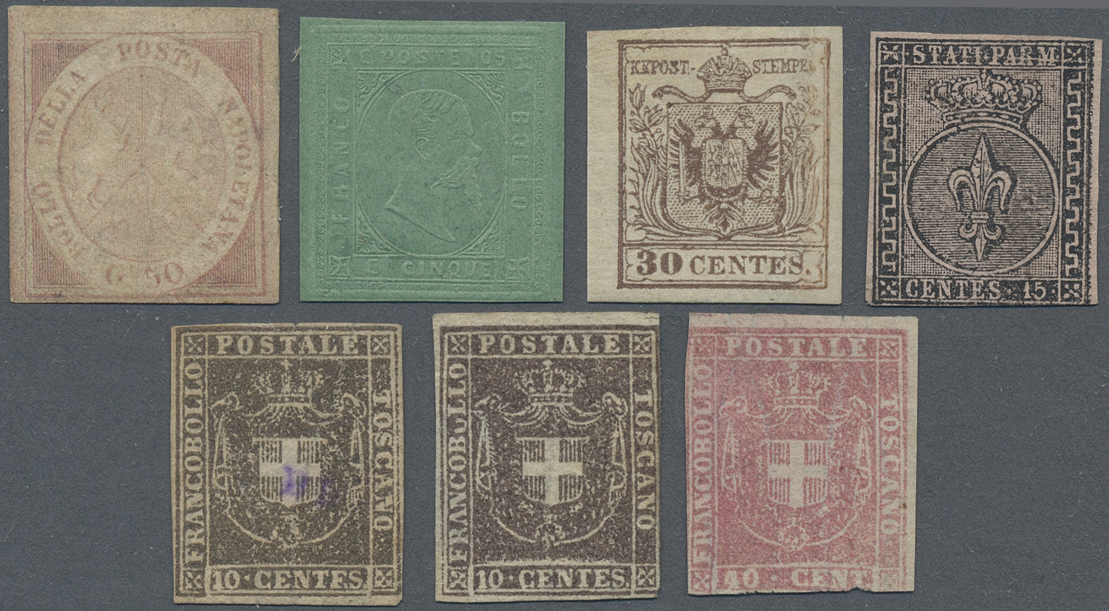 Lot 29752 - altitalien  -  Auktionshaus Christoph Gärtner GmbH & Co. KG Auction #40 Collections Germany, Wunderkartons