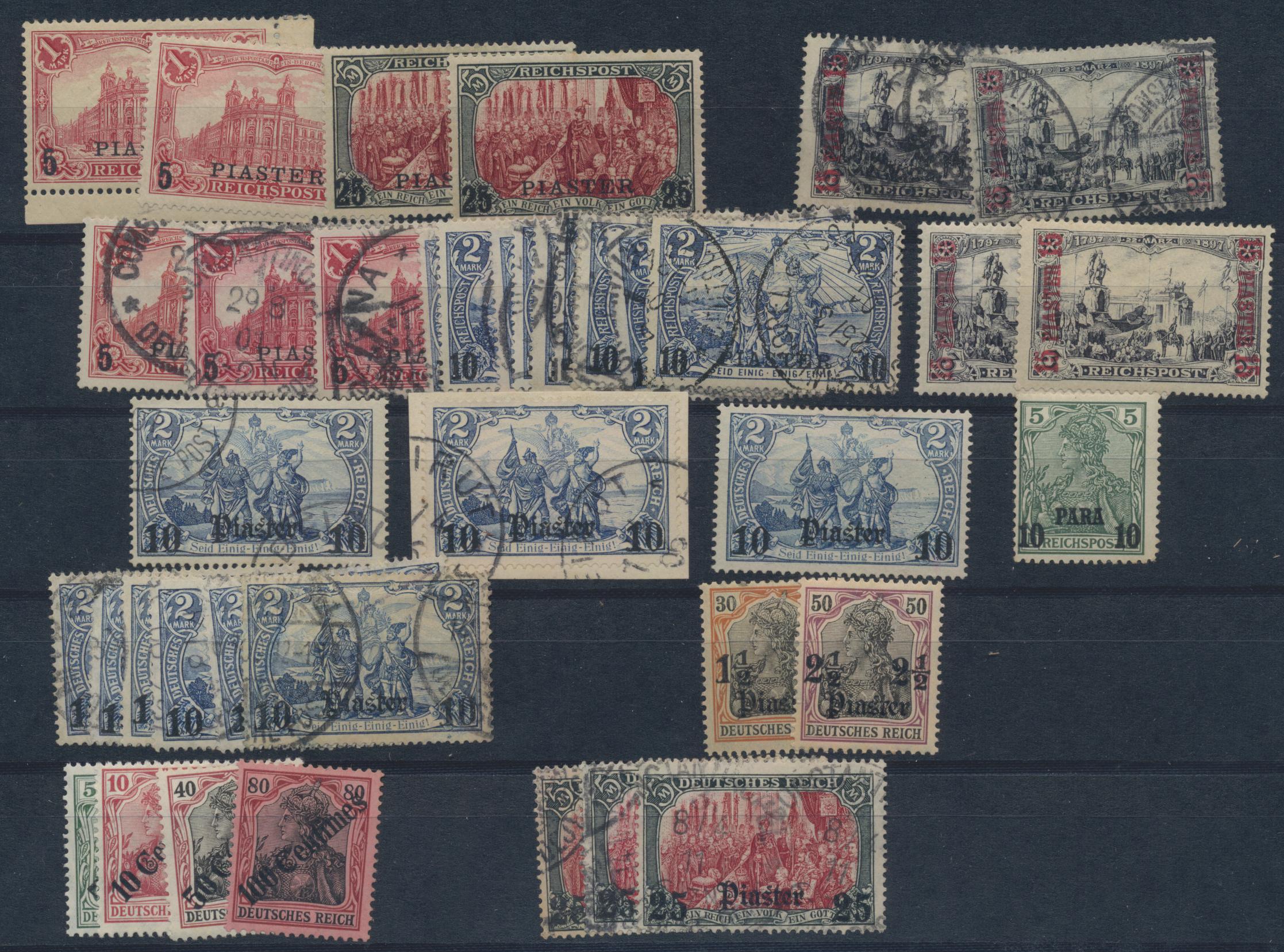 Lot 36904 - Deutsche Auslandspostämter + Kolonien  -  Auktionshaus Christoph Gärtner GmbH & Co. KG Sale #44 Collections Germany