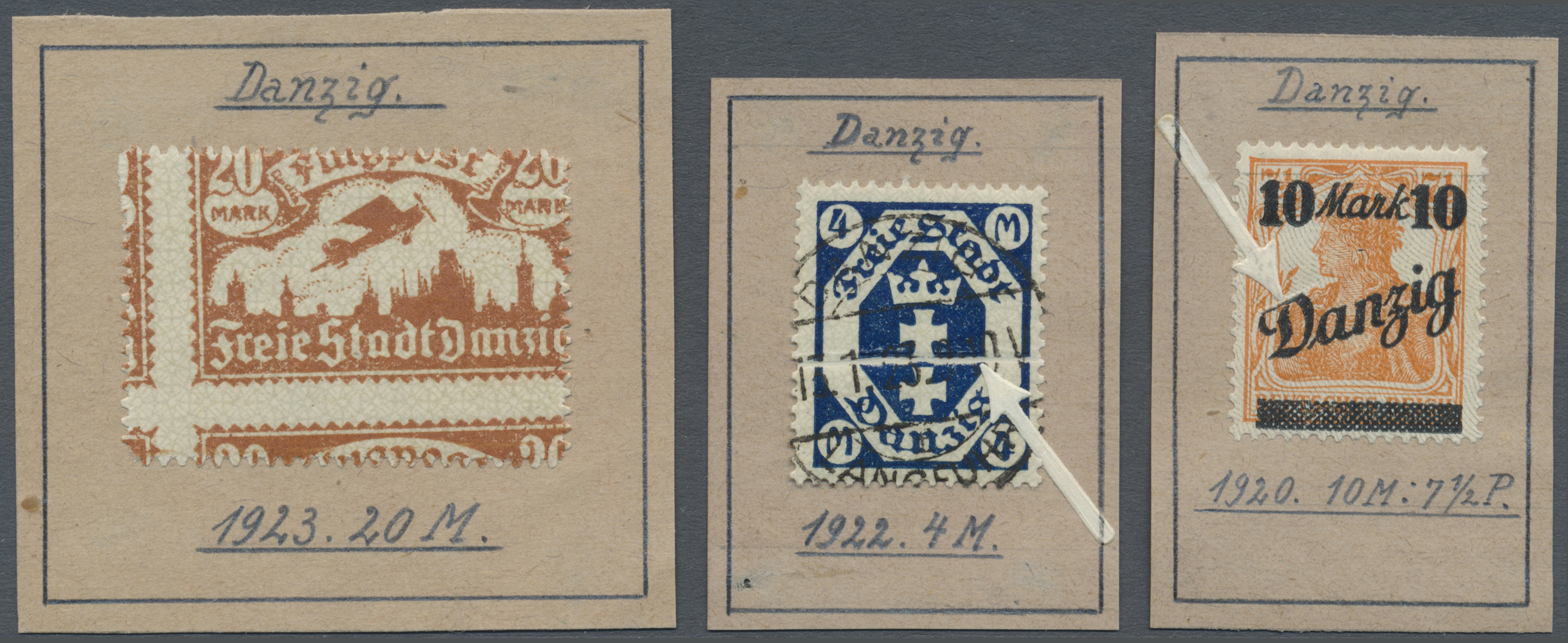 Lot 24858 - danzig  -  Auktionshaus Christoph Gärtner GmbH & Co. KG Sale #47 Colections: Germany