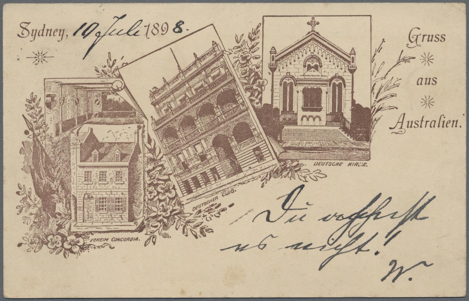 Lot 03022 - Neusüdwales - Ganzsachen  -  Auktionshaus Christoph Gärtner GmbH & Co. KG Sale #49 Special catalogue Australia, USA – Wells Fargo