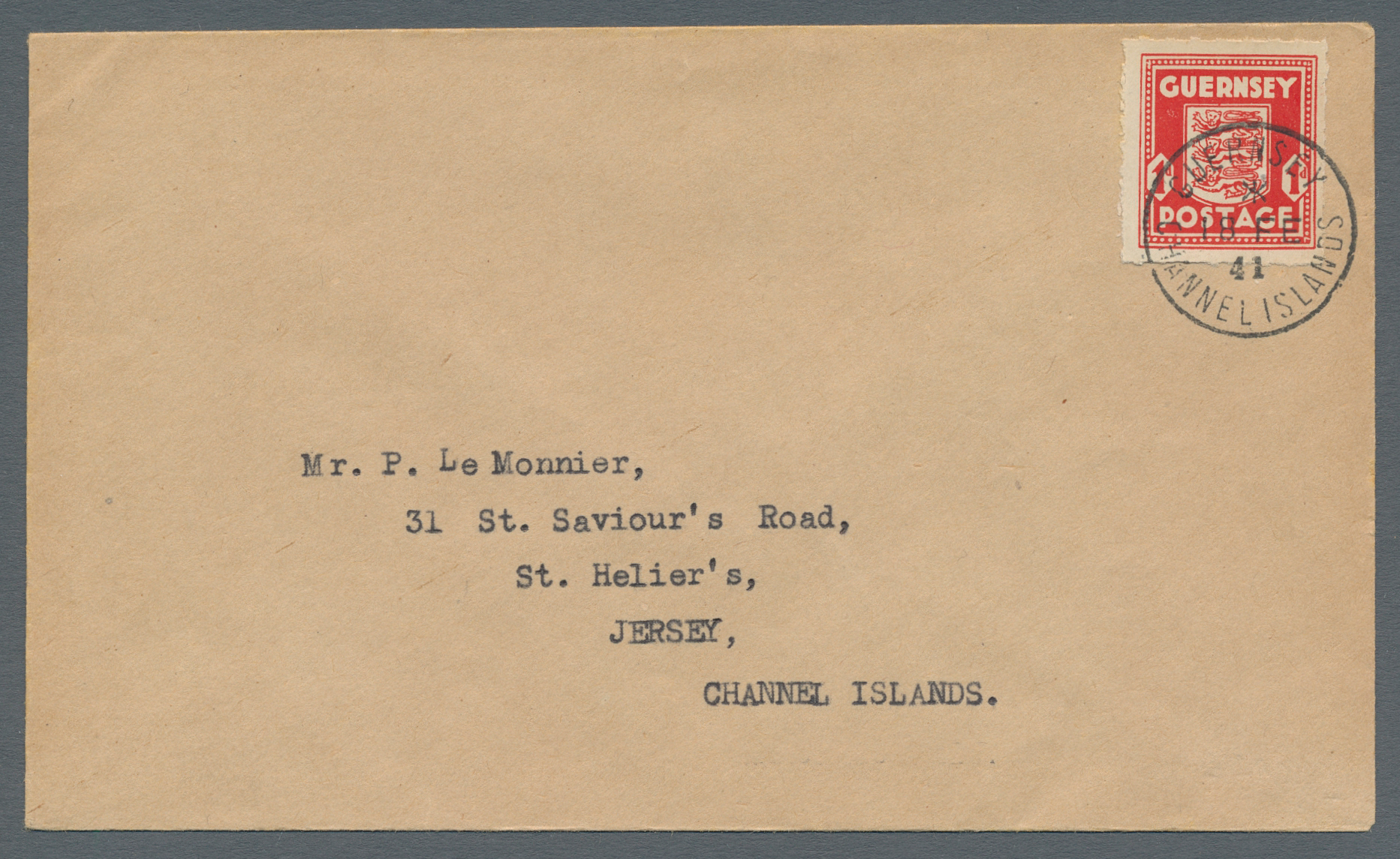 Lot 19439 - Dt. Besetzung II WK - Guernsey  -  Auktionshaus Christoph Gärtner GmbH & Co. KG Auction #40 Germany, Picture Post Cards, Collections Overseas, Thematics