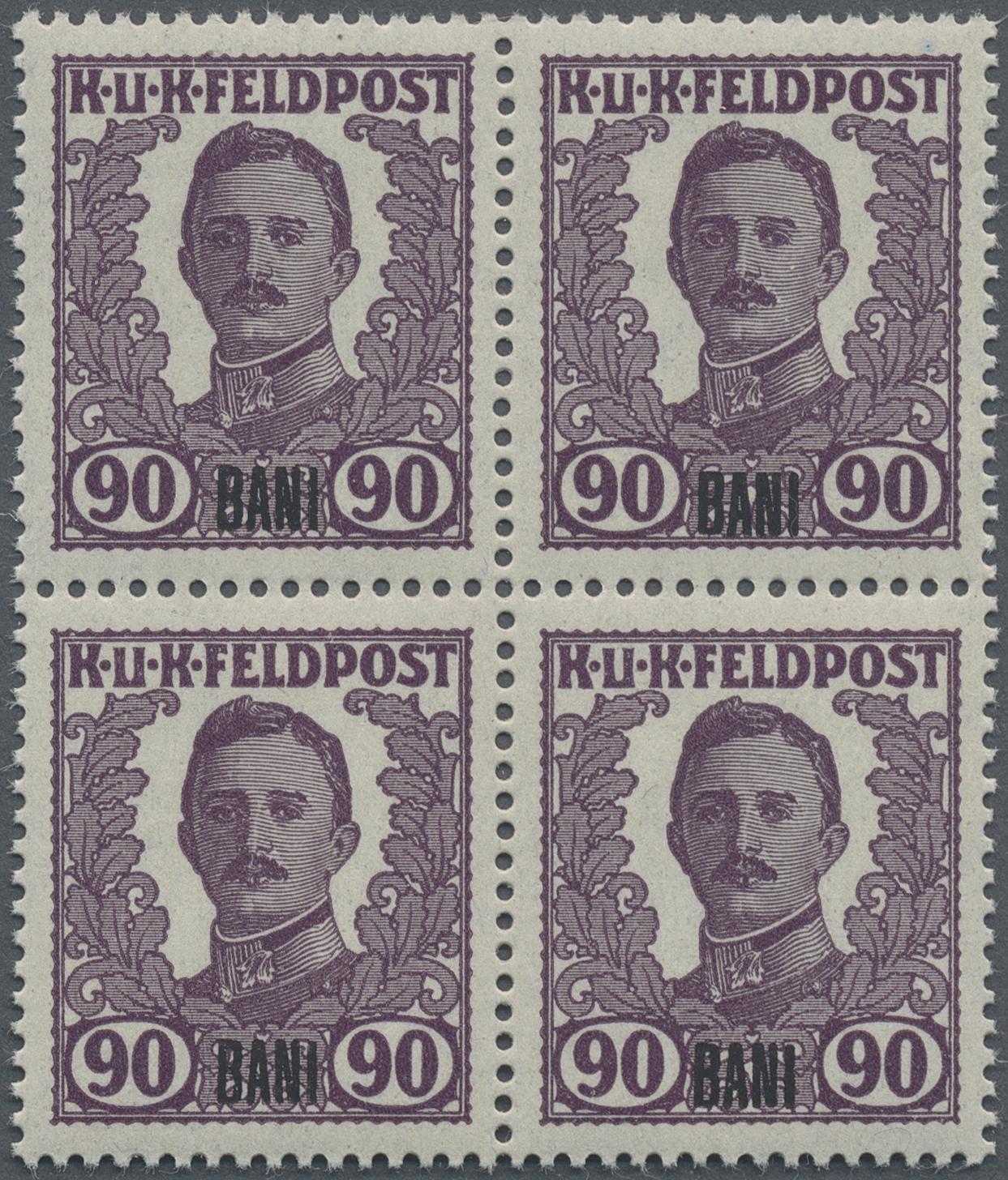 Lot 18356 - Österreichisch-Ungarische Feldpost - Rumänien  -  Auktionshaus Christoph Gärtner GmbH & Co. KG Sale #48 collections Overseas  Airmail / Ship mail & Thematics