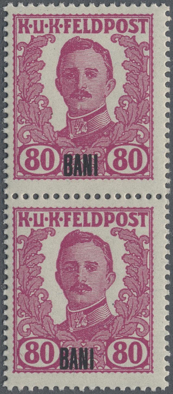 Lot 18355 - Österreichisch-Ungarische Feldpost - Rumänien  -  Auktionshaus Christoph Gärtner GmbH & Co. KG Sale #48 collections Overseas  Airmail / Ship mail & Thematics