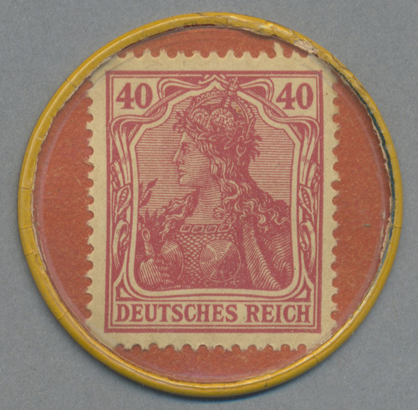 Lot 03601 - Deutschland - Briefmarkennotgeld | Banknoten  -  Auktionshaus Christoph Gärtner GmbH & Co. KG Sale #45 Banknotes Germany/Numismatics