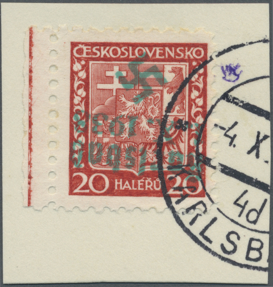 Lot 9 - sudetenland - karlsbad  -  Auktionshaus Christoph Gärtner GmbH & Co. KG Auction #41 Special auction part one