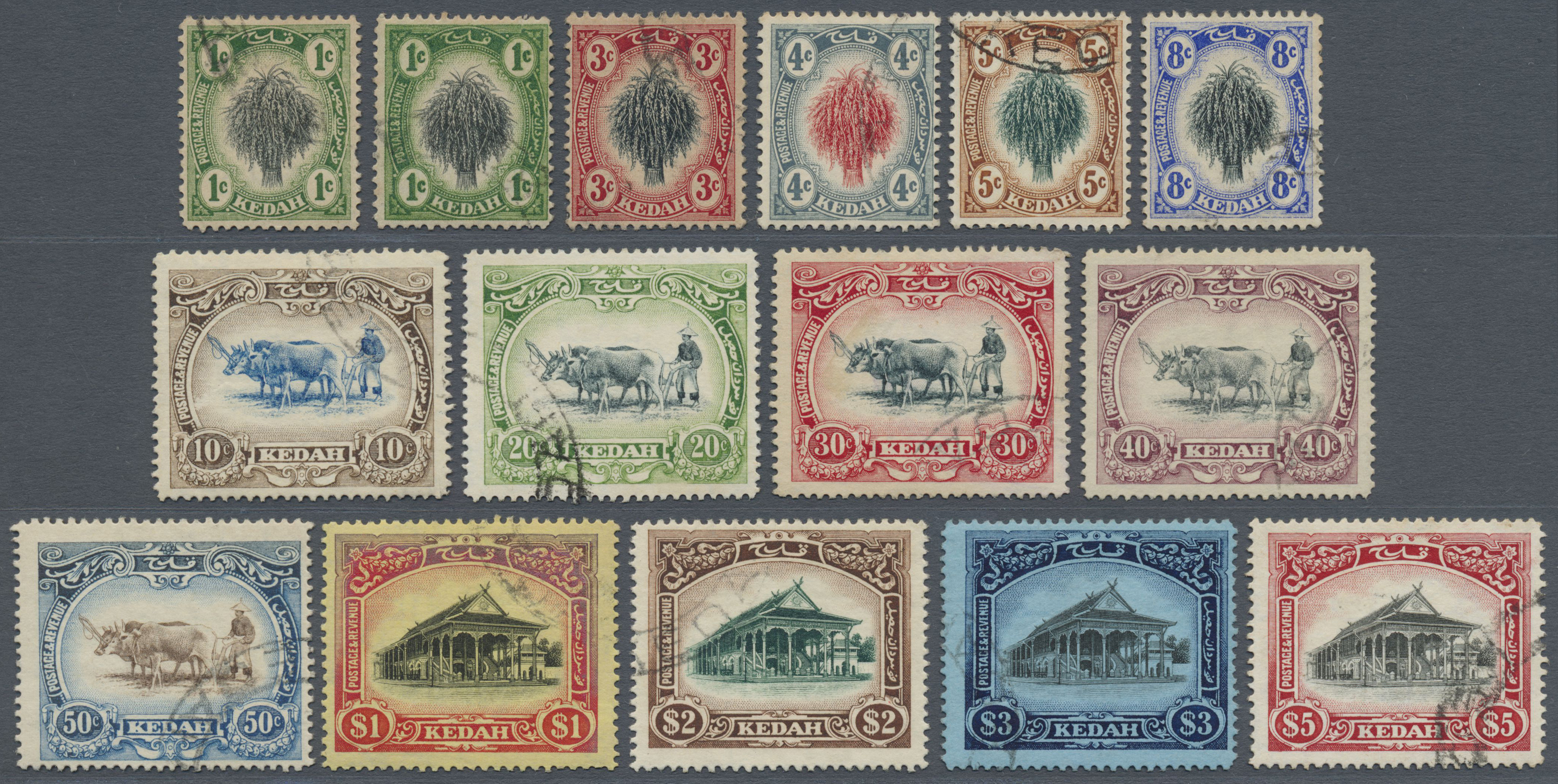 Lot 9078 - Malaiische Staaten - Kedah  -  Auktionshaus Christoph Gärtner GmbH & Co. KG Philately: ASIA single lots including Special Catalog Malaya Auction #39 Day 3