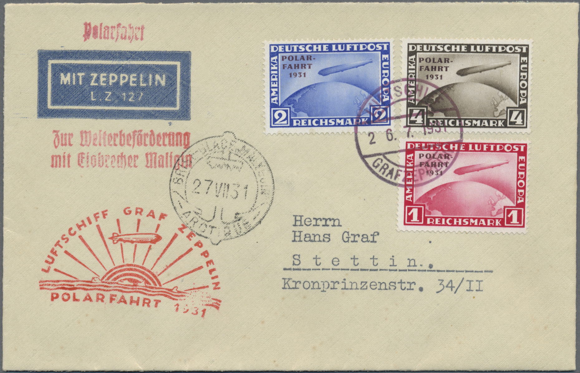 Lot 17383 - Deutsches Reich - Weimar  -  Auktionshaus Christoph Gärtner GmbH & Co. KG Sale #45- GERMANY
