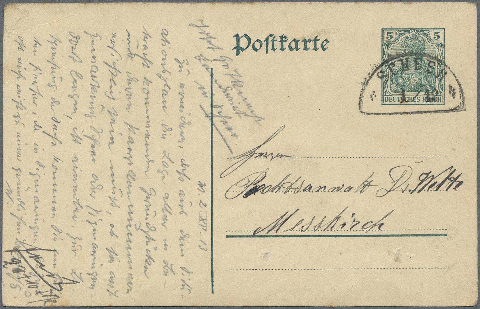 Lot 36359 - Württemberg - Bahnpost  -  Auktionshaus Christoph Gärtner GmbH & Co. KG Sale #44 Collections Germany