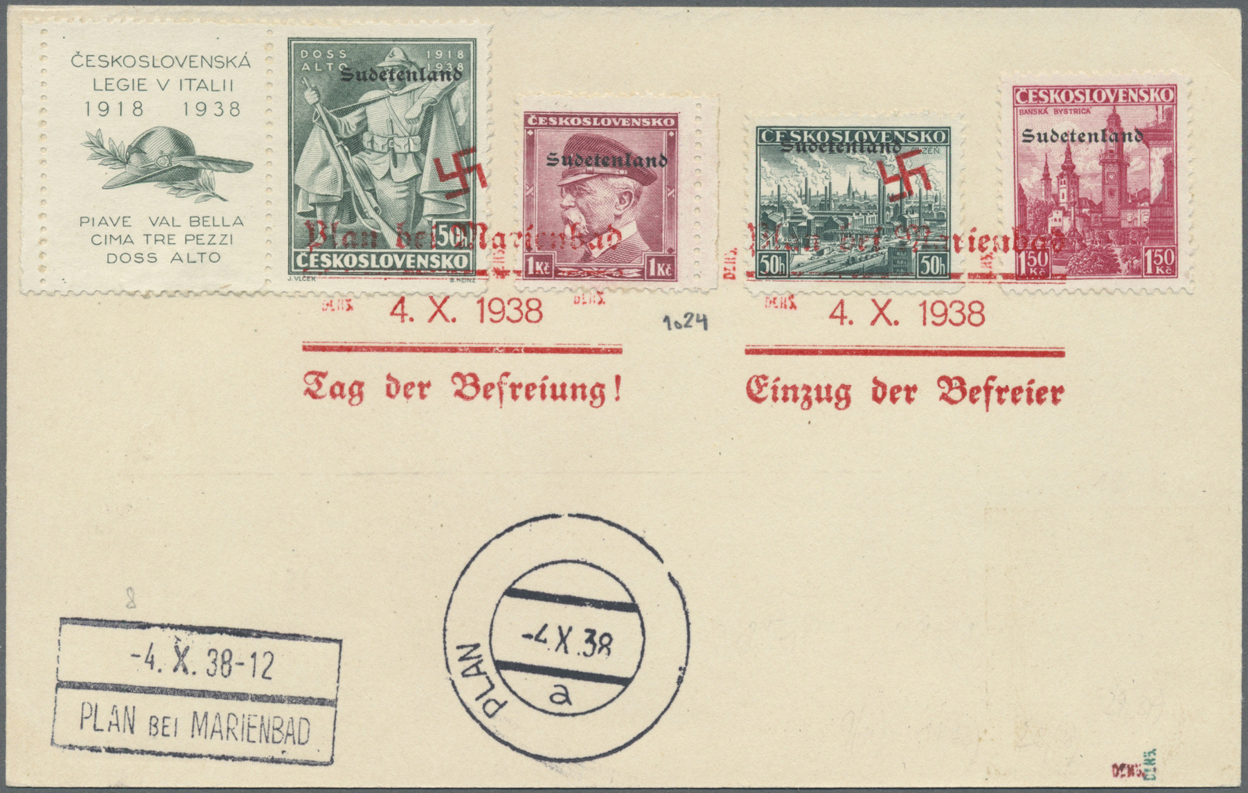 Lot 84 - Sudetenland - Konstantinsbad  -  Auktionshaus Christoph Gärtner GmbH & Co. KG Auction #41 Special auction part one