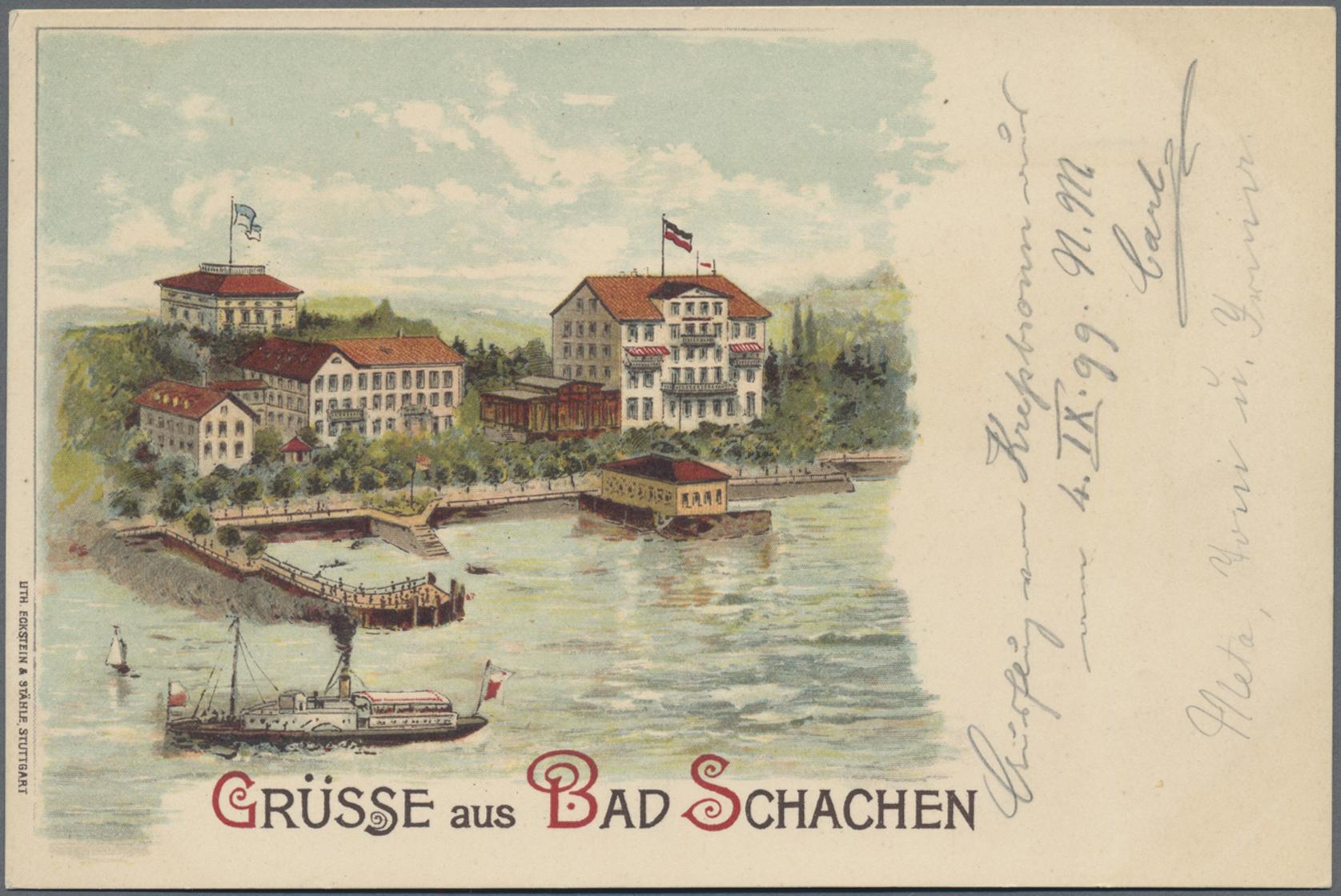 Lot 04386 - Ansichtskarten: Bayern  -  Auktionshaus Christoph Gärtner GmbH & Co. KG Sale #48 The Coins & The Picture Post Cards
