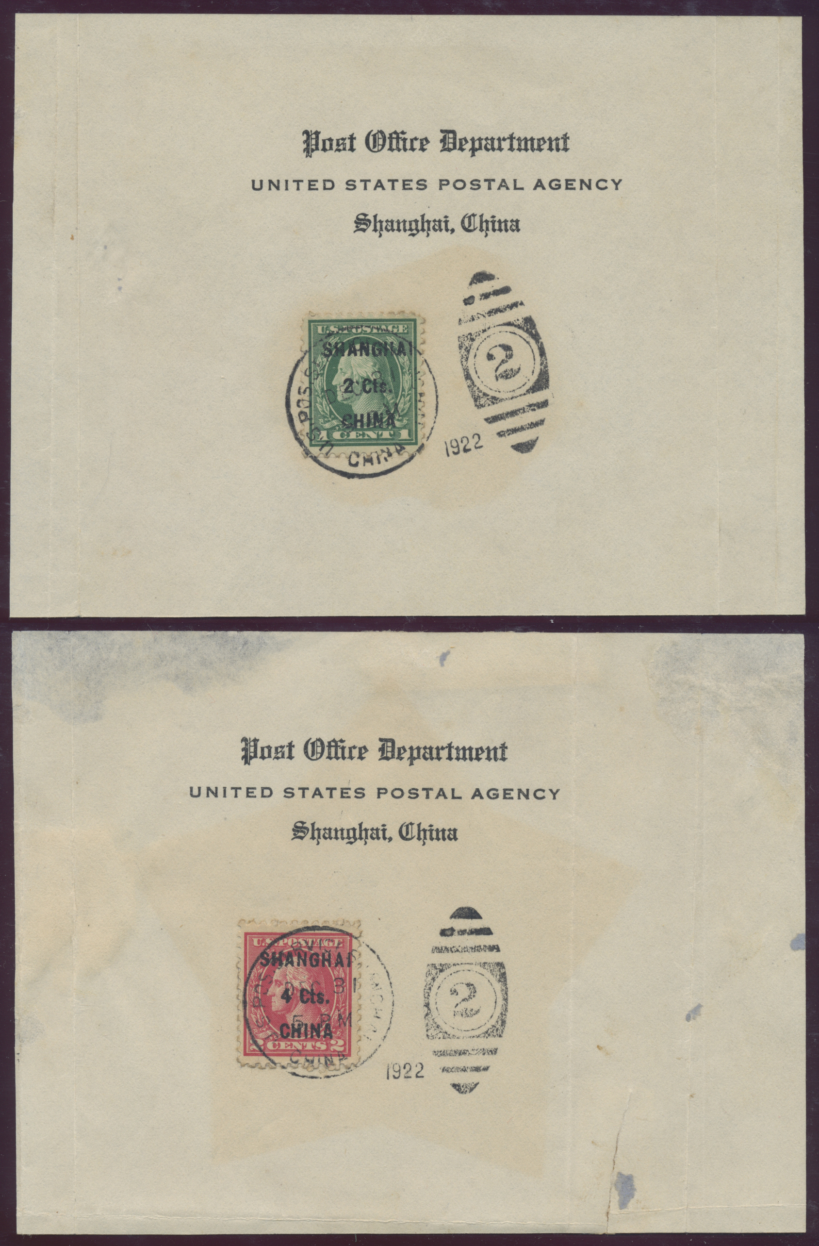 Lot 24474 - China - Fremde Postanstalten / Foreign Offices  -  Auktionshaus Christoph Gärtner GmbH & Co. KG Sale #45Collections Worldwide