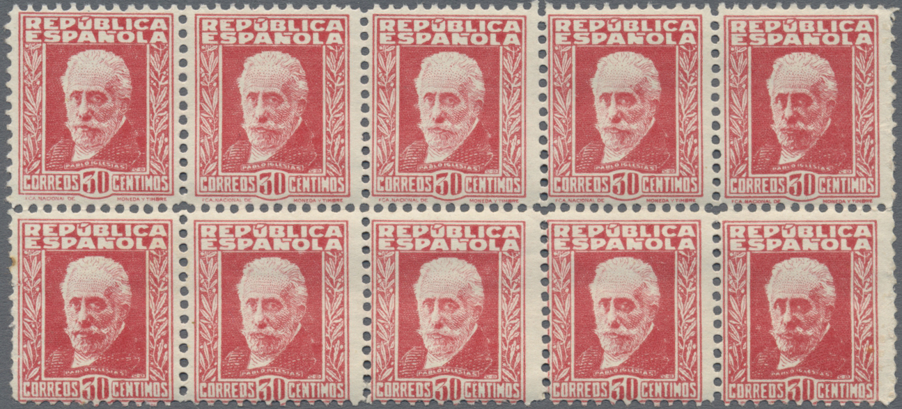 Lot 19202 - spanien  -  Auktionshaus Christoph Gärtner GmbH & Co. KG Sale #48 collections Overseas  Airmail / Ship mail & Thematics