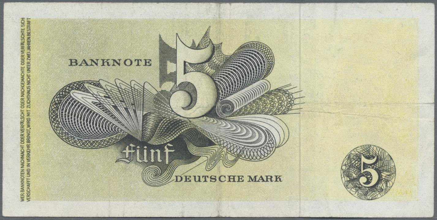 Lot 03409 - Deutschland - Bank Deutscher Länder + Bundesrepublik Deutschland | Banknoten  -  Auktionshaus Christoph Gärtner GmbH & Co. KG Sale #45 Banknotes Germany/Numismatics