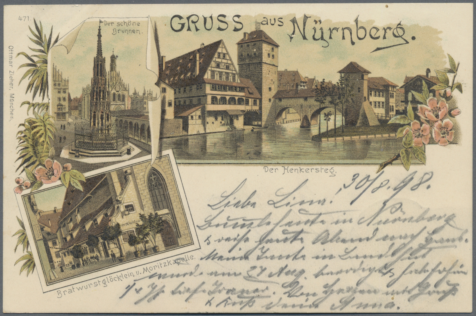 Lot 04499 - Ansichtskarten: Bayern  -  Auktionshaus Christoph Gärtner GmbH & Co. KG Sale #48 The Coins & The Picture Post Cards