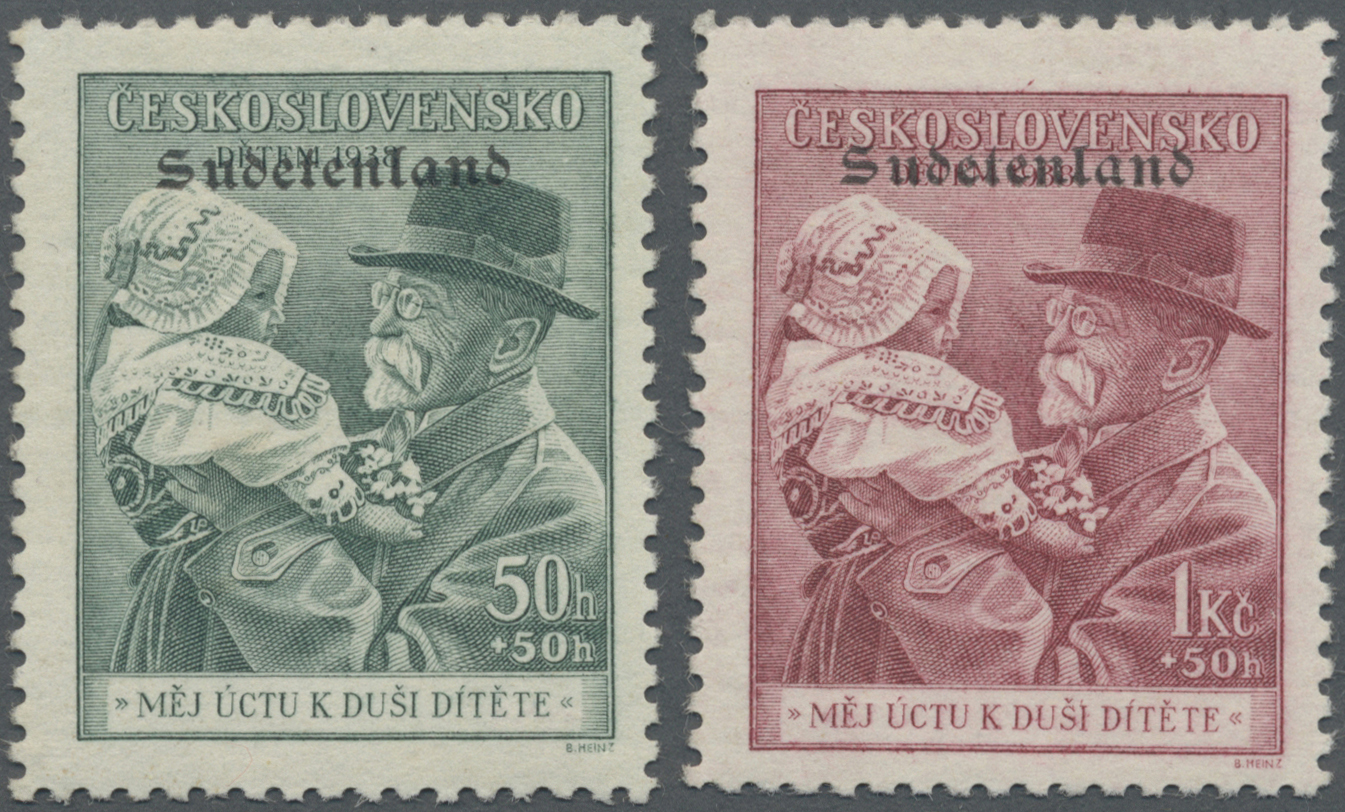 Lot 80 - Sudetenland - Konstantinsbad  -  Auktionshaus Christoph Gärtner GmbH & Co. KG Auction #41 Special auction part one