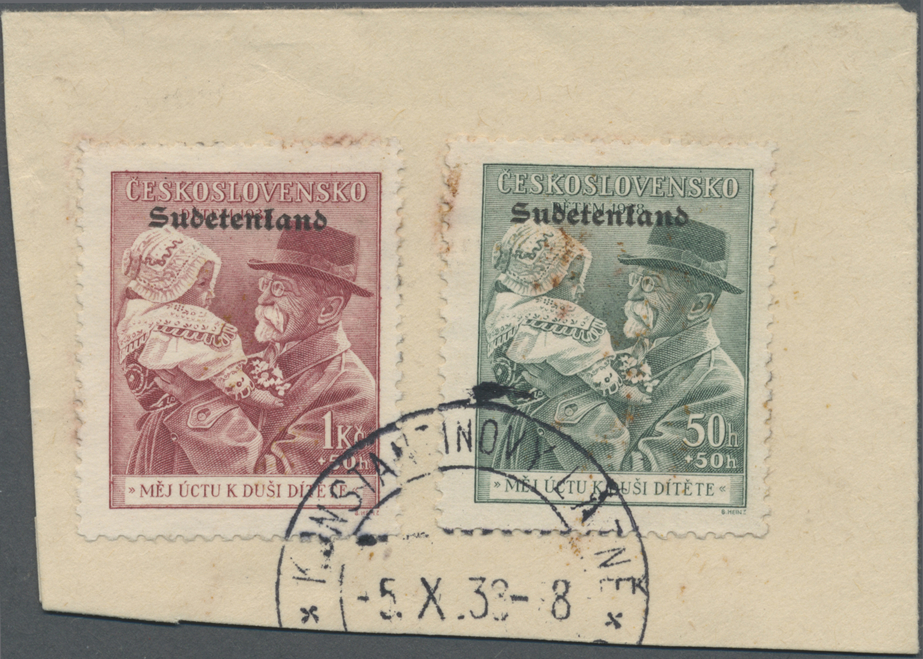Lot 81 - Sudetenland - Konstantinsbad  -  Auktionshaus Christoph Gärtner GmbH & Co. KG Auction #41 Special auction part one