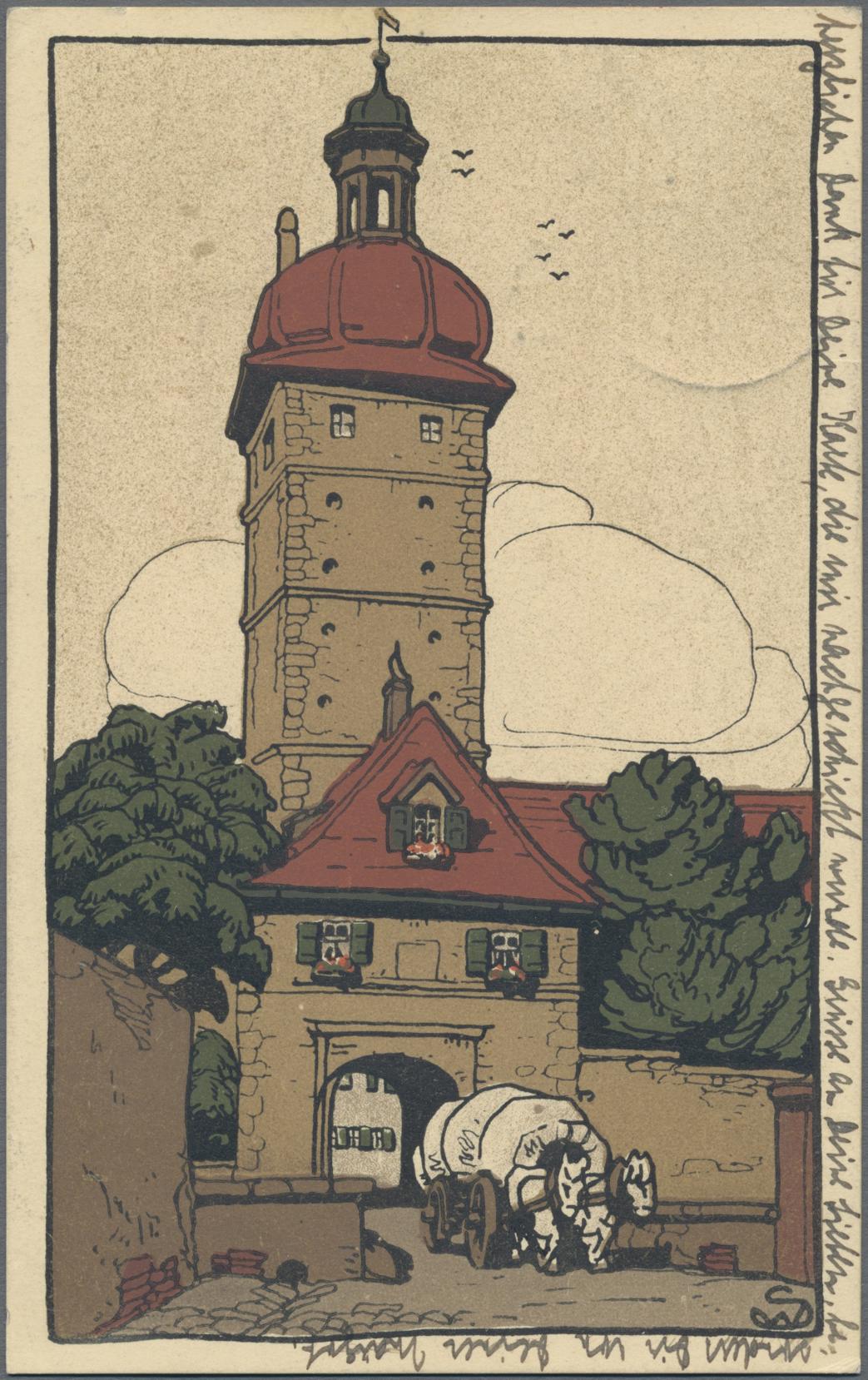 Lot 04392 - Ansichtskarten: Bayern  -  Auktionshaus Christoph Gärtner GmbH & Co. KG Sale #48 The Coins & The Picture Post Cards