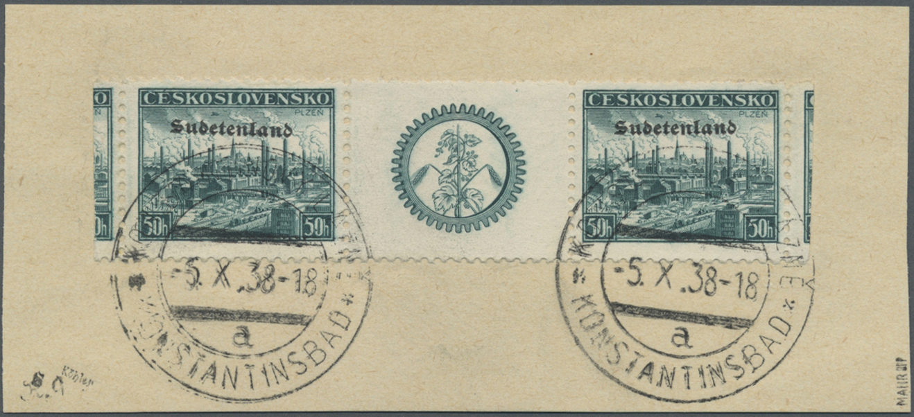 Lot 87 - Sudetenland - Konstantinsbad  -  Auktionshaus Christoph Gärtner GmbH & Co. KG Auction #41 Special auction part one