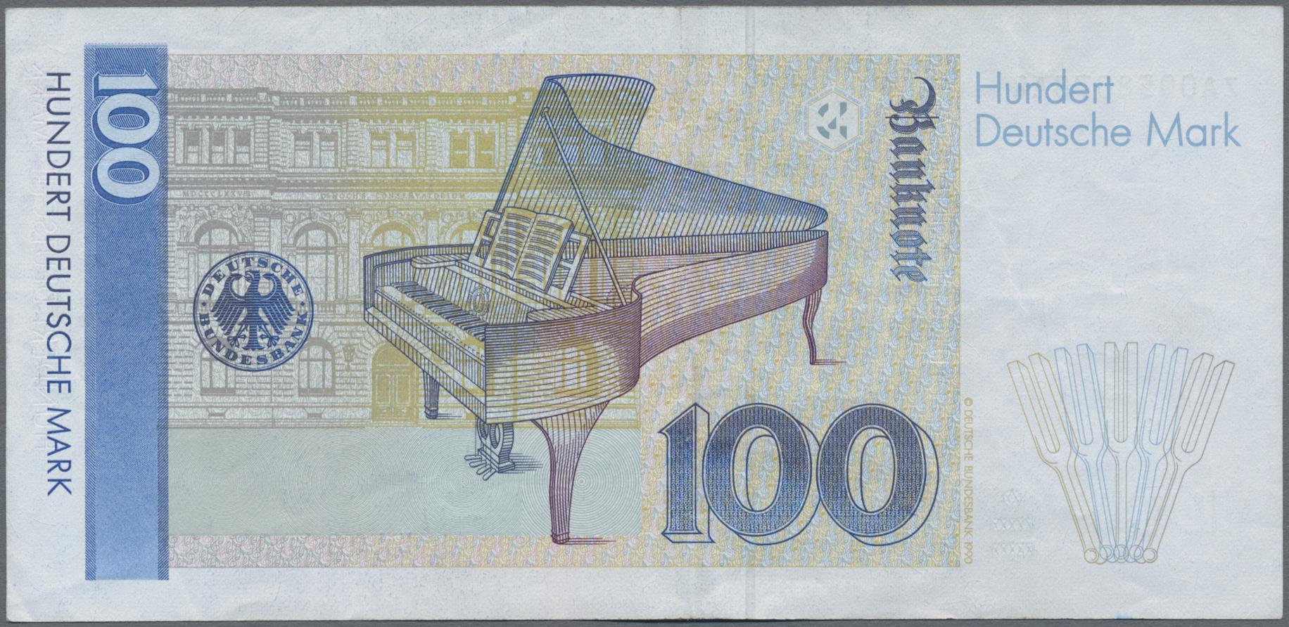 Lot 03445 - Deutschland - Bank Deutscher Länder + Bundesrepublik Deutschland | Banknoten  -  Auktionshaus Christoph Gärtner GmbH & Co. KG Sale #45 Banknotes Germany/Numismatics