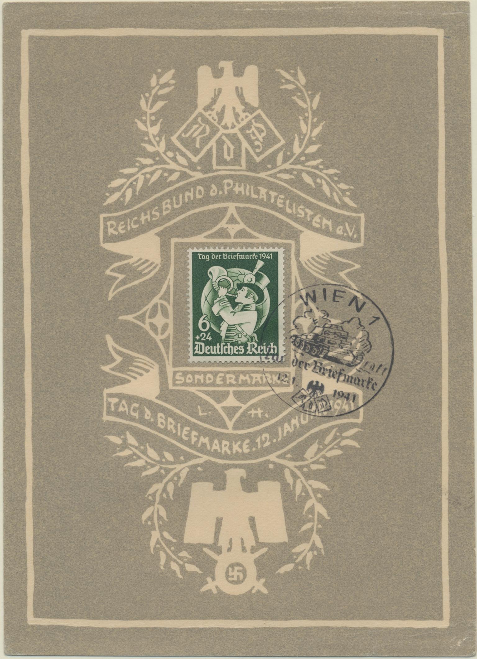 Lot 26114 - Deutsches Reich - 3. Reich  -  Auktionshaus Christoph Gärtner GmbH & Co. KG 50th Auction Anniversary Auction - Day 6
