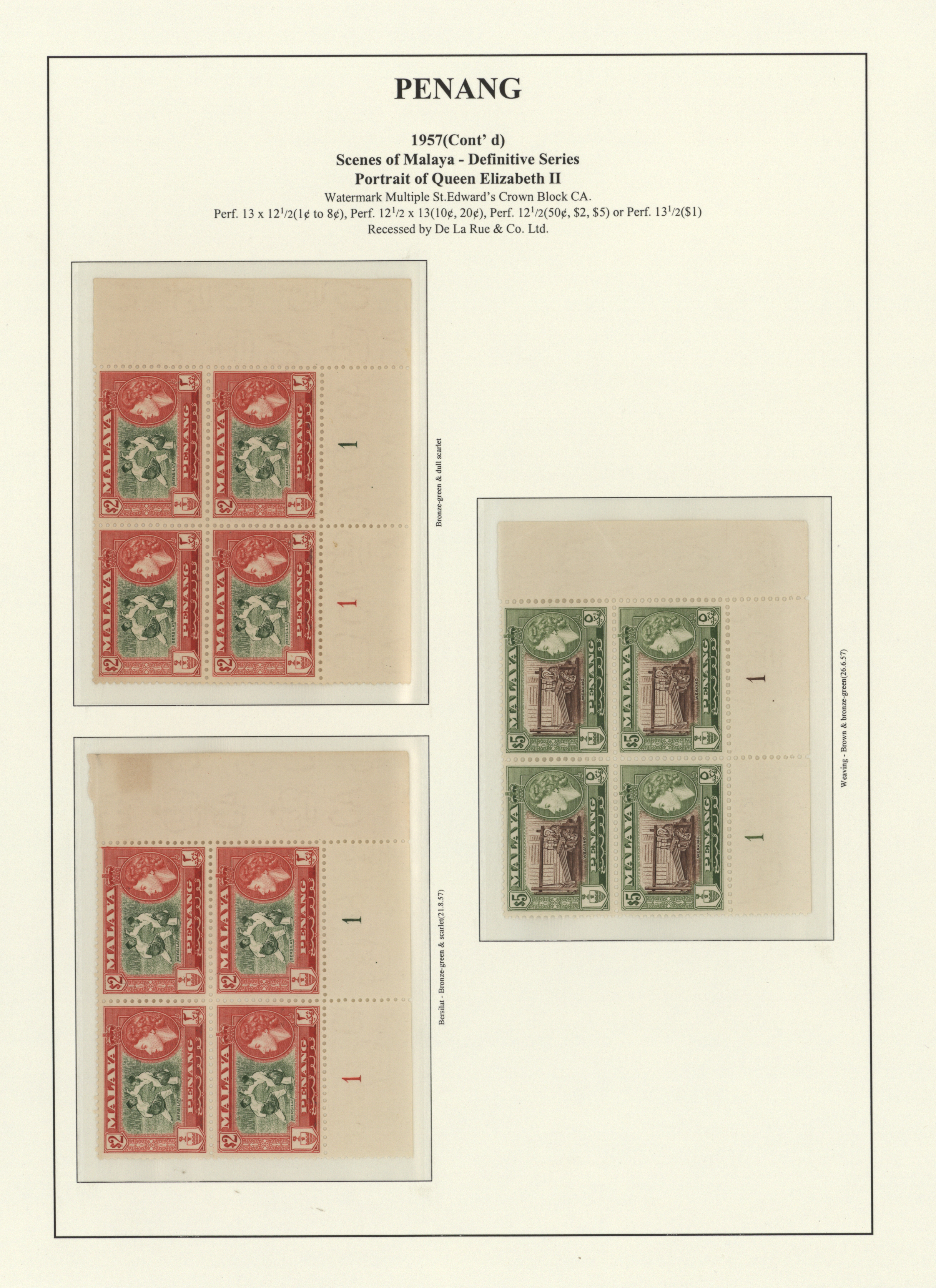 Lot 34574 - Malaiische Staaten - Penang  -  Auktionshaus Christoph Gärtner GmbH & Co. KG Collections Germany,  Collections Supplement, Surprise boxes #39 Day 7