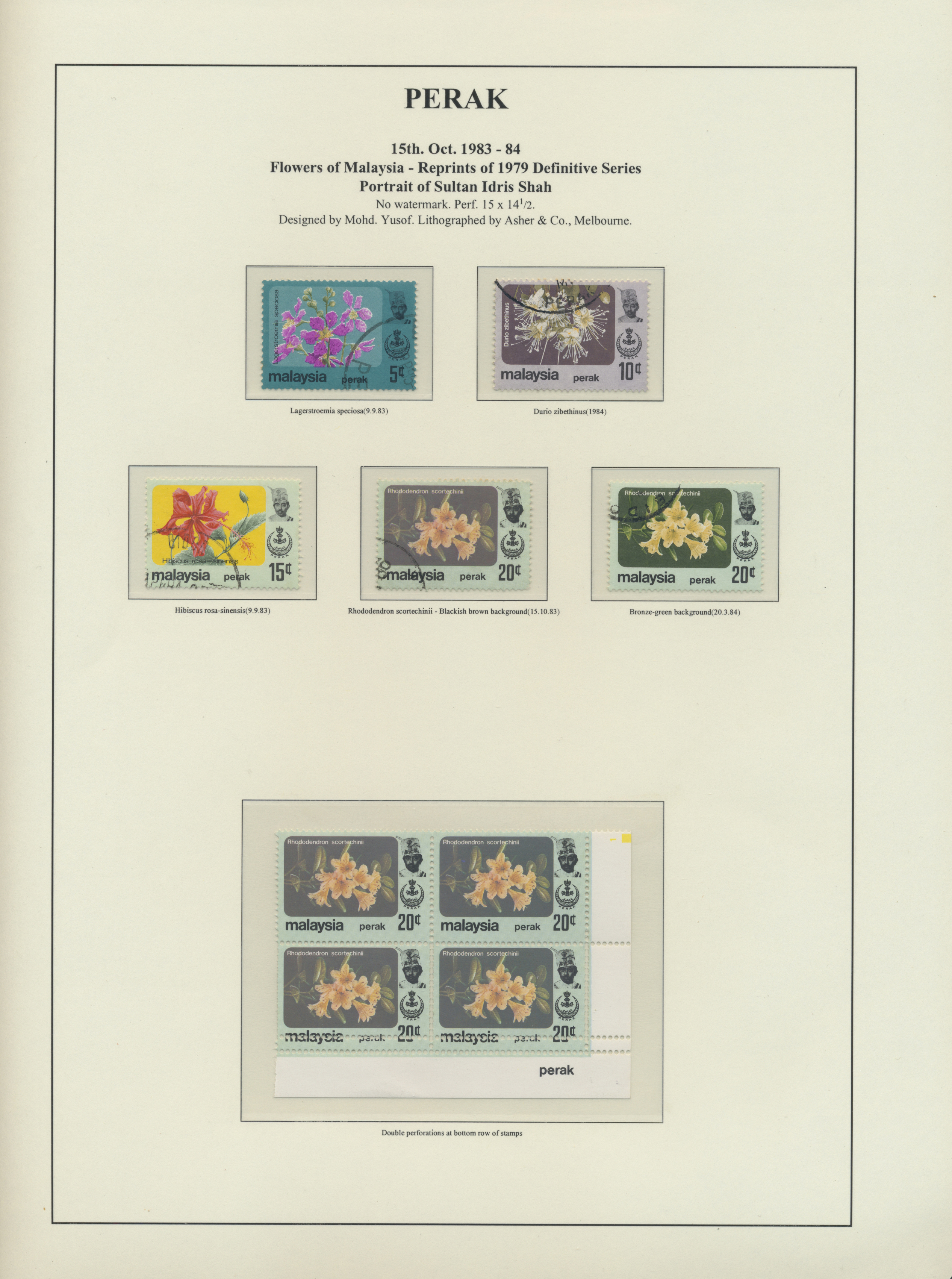 Lot 34575 - Malaiische Staaten - Perak  -  Auktionshaus Christoph Gärtner GmbH & Co. KG Collections Germany,  Collections Supplement, Surprise boxes #39 Day 7