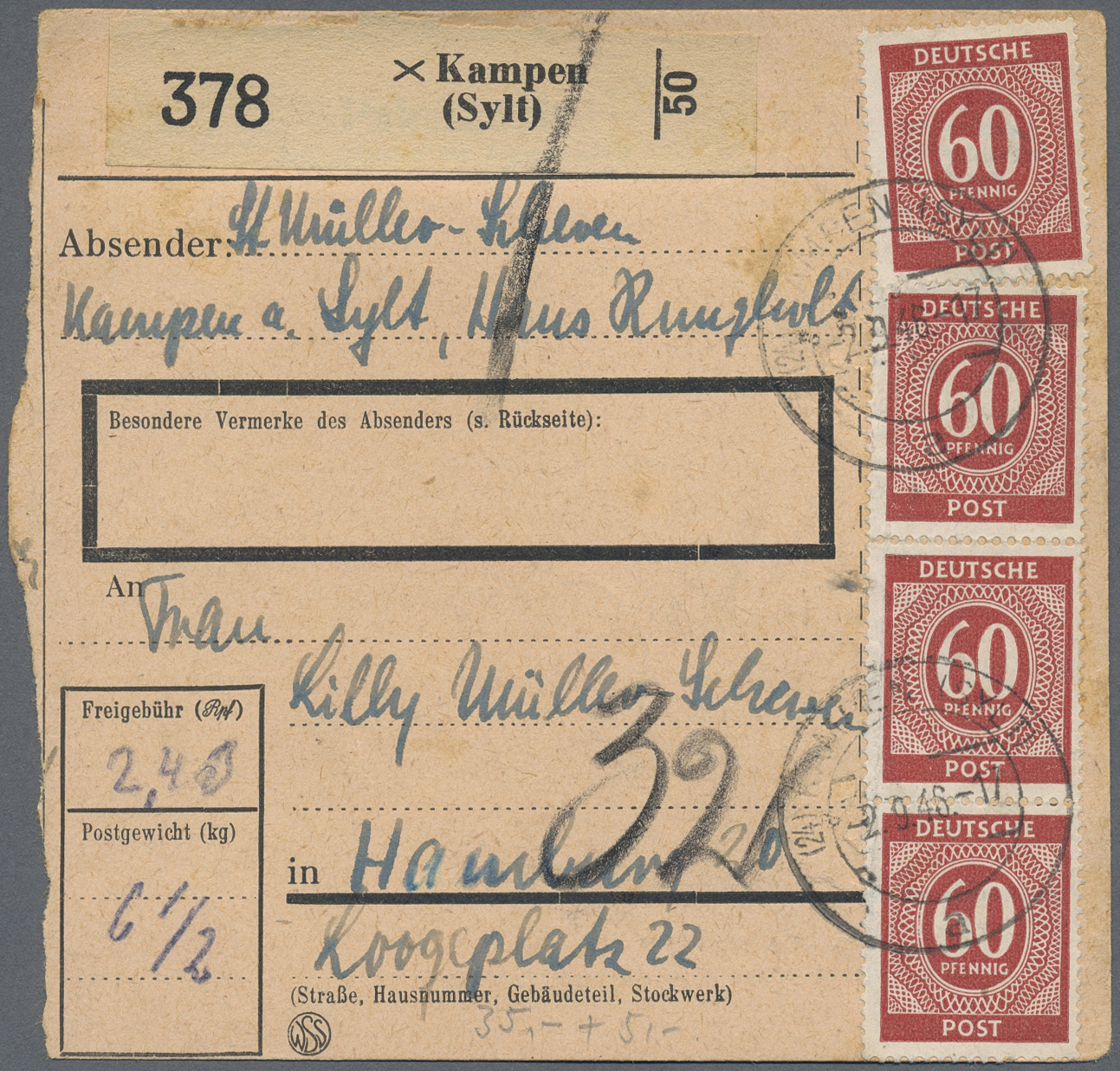 Lot 37895 - Alliierte Besetzung - Gemeinschaftsausgaben  -  Auktionshaus Christoph Gärtner GmbH & Co. KG Collections Germany,  Collections Supplement, Surprise boxes #39 Day 7