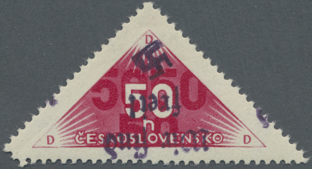 Lot 11662 - Sudetenland - Reichenberg  -  Auktionshaus Christoph Gärtner GmbH & Co. KG Sale #48 The Single Lots Philatelie