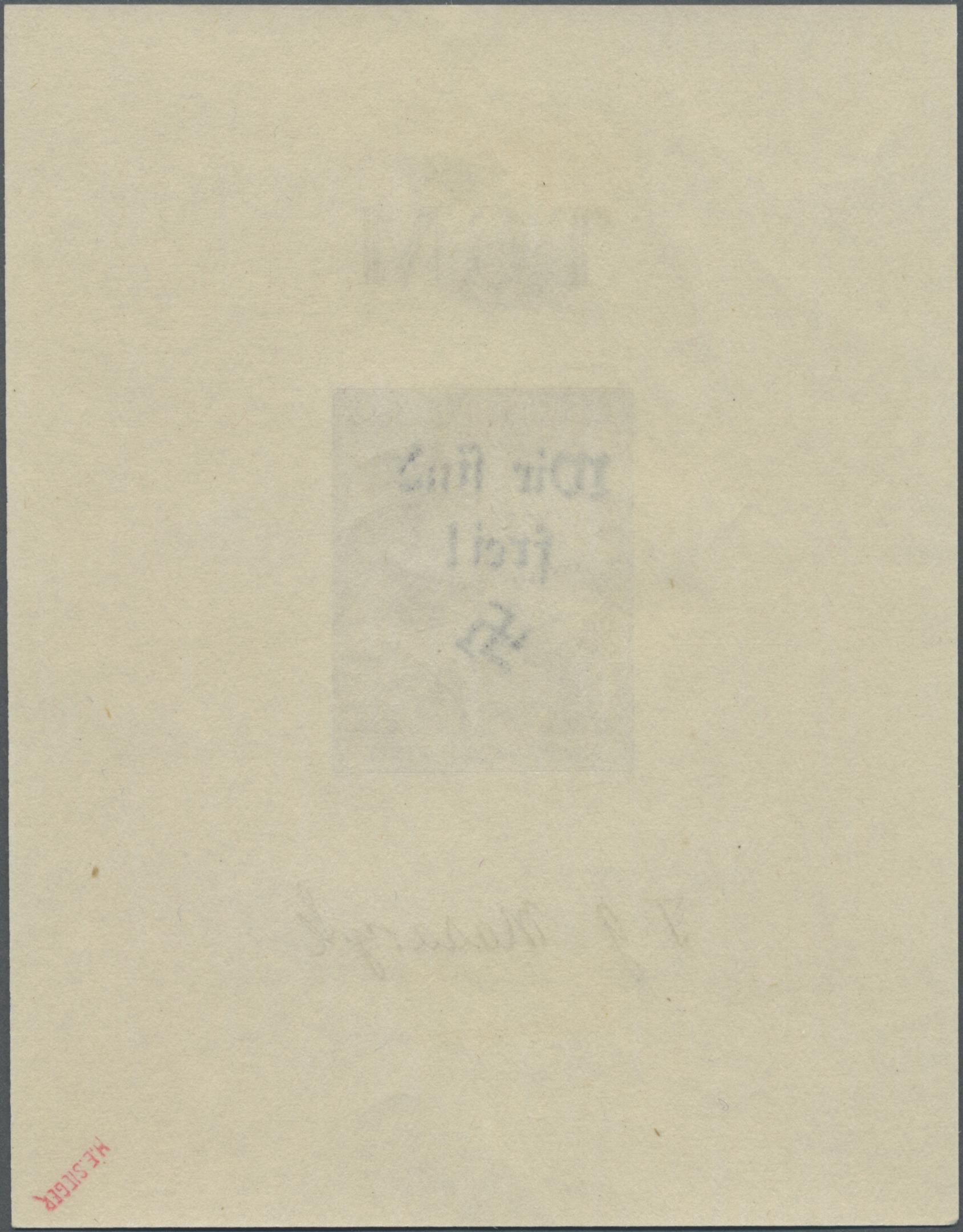 Lot 169 - Sudetenland - Reichenberg  -  Auktionshaus Christoph Gärtner GmbH & Co. KG Auction #41 Special auction part one