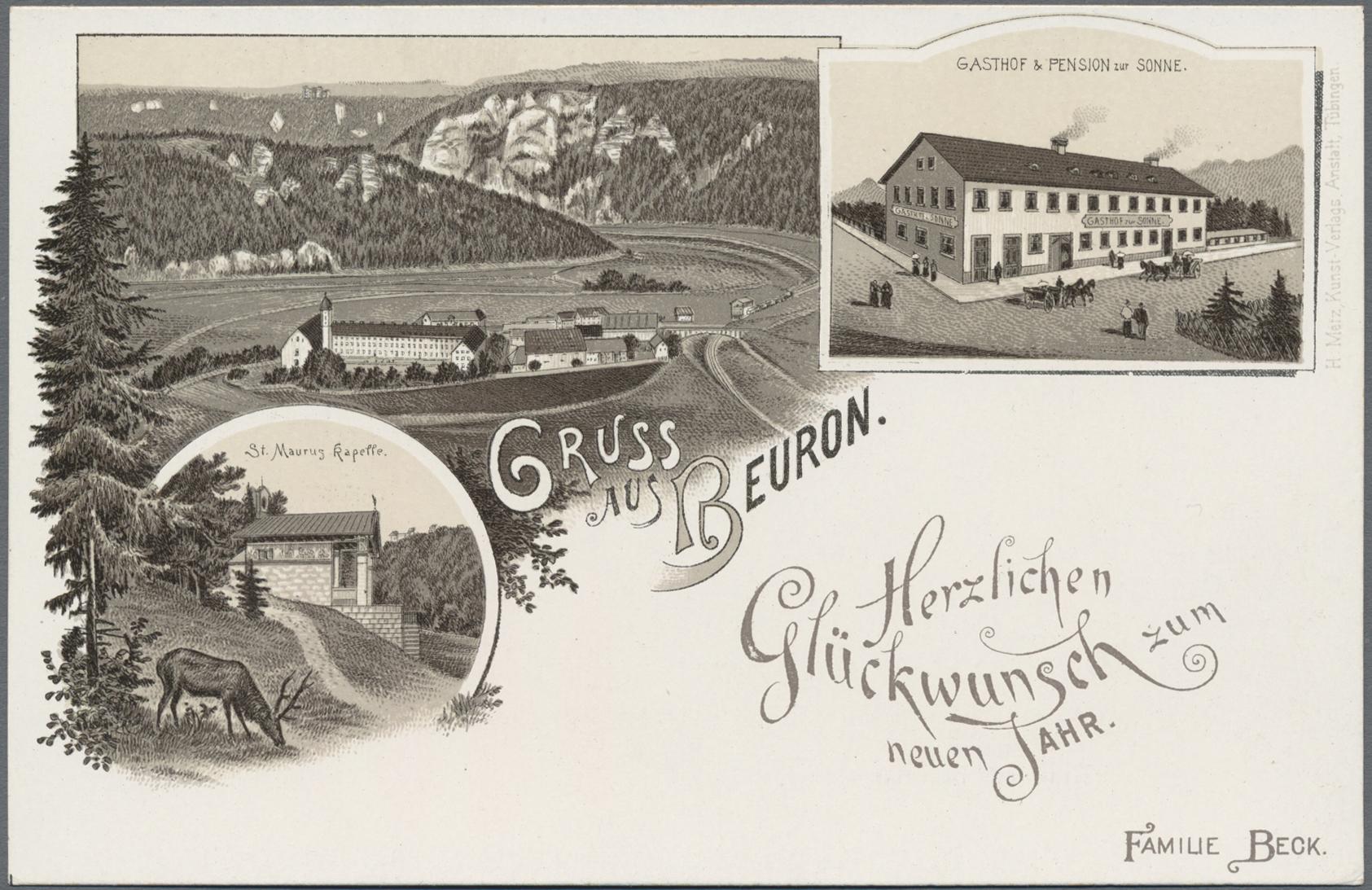 Lot 04337 - Ansichtskarten: Baden-Württemberg  -  Auktionshaus Christoph Gärtner GmbH & Co. KG Sale #48 The Coins & The Picture Post Cards