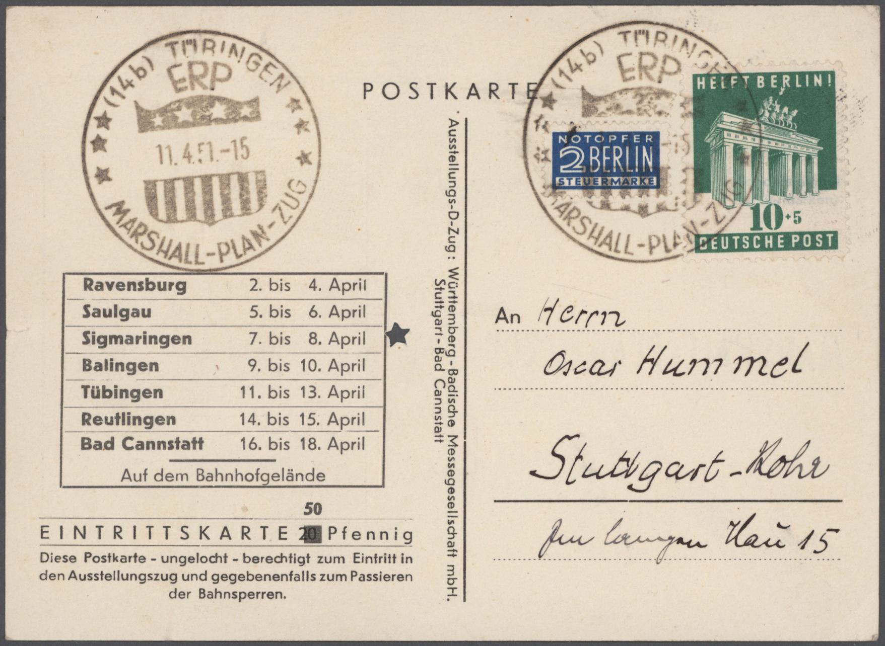 Lot 24425 - bundesrepublik deutschland  -  Auktionshaus Christoph Gärtner GmbH & Co. KG 50th Auction Anniversary Auction - Day 7
