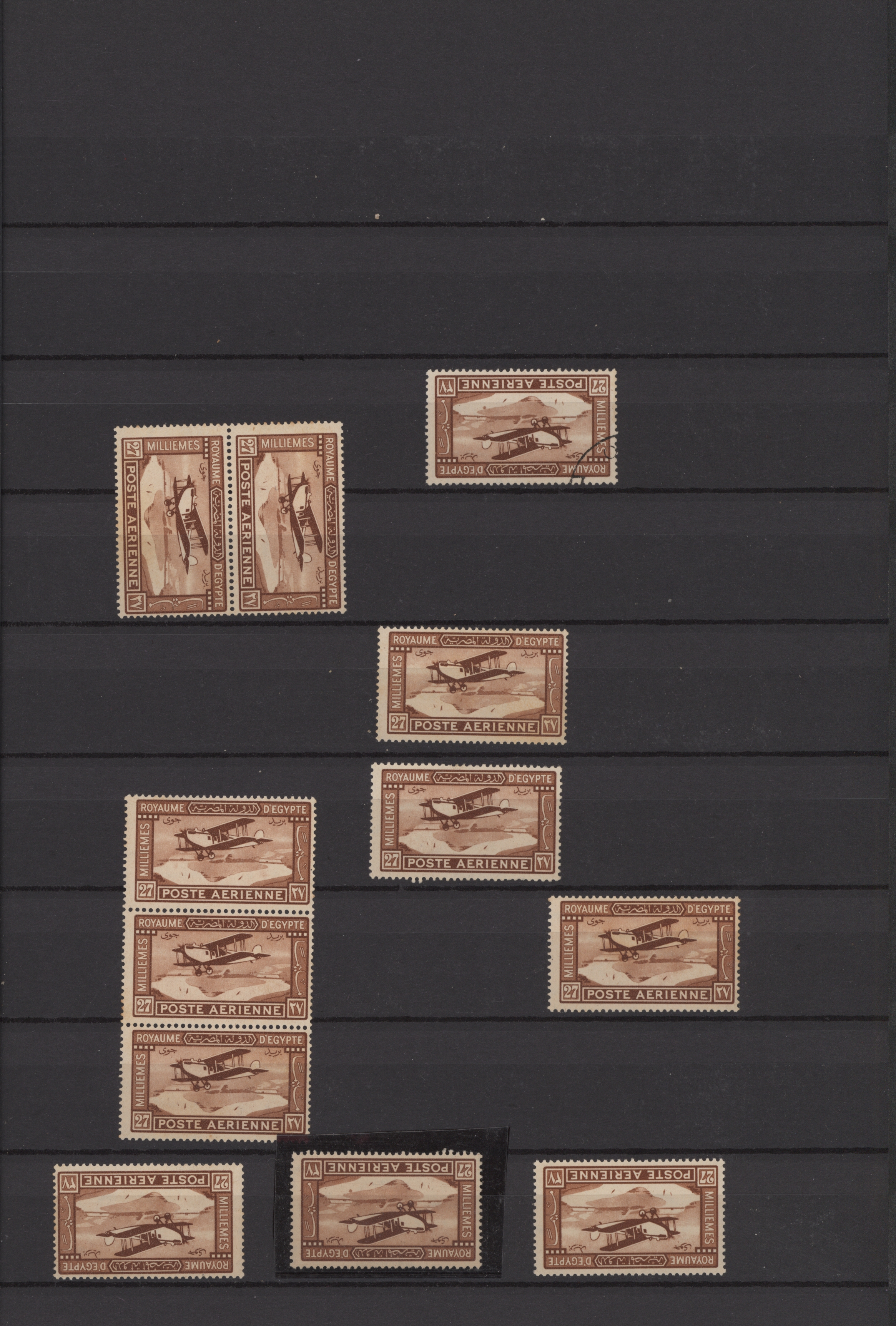 Lot 16016 - ägypten  -  Auktionshaus Christoph Gärtner GmbH & Co. KG Sale #49 Collections Overseas, Thematics, Europe, Germany/Estates