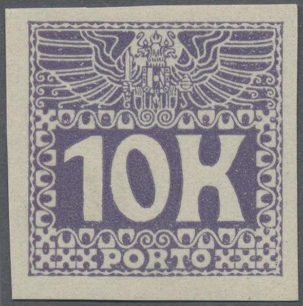 Lot 12449 - Österreich - Portomarken  -  Auktionshaus Christoph Gärtner GmbH & Co. KG Sale #46 Single lots Asia, Thematics, Overseas, Europe …
