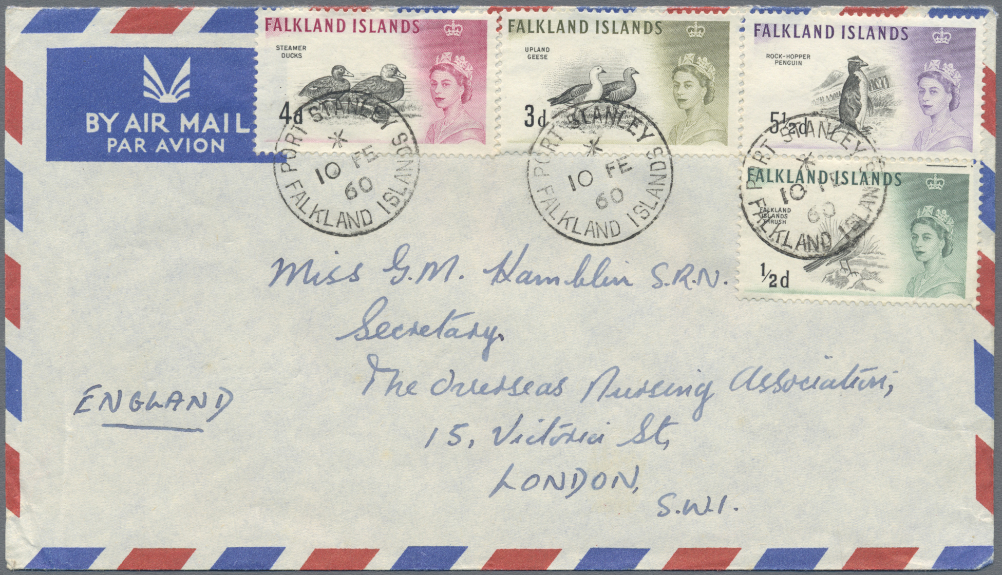 Lot 14998 - übersee  -  Auktionshaus Christoph Gärtner GmbH & Co. KG Sale #48 collections Overseas  Airmail / Ship mail & Thematics